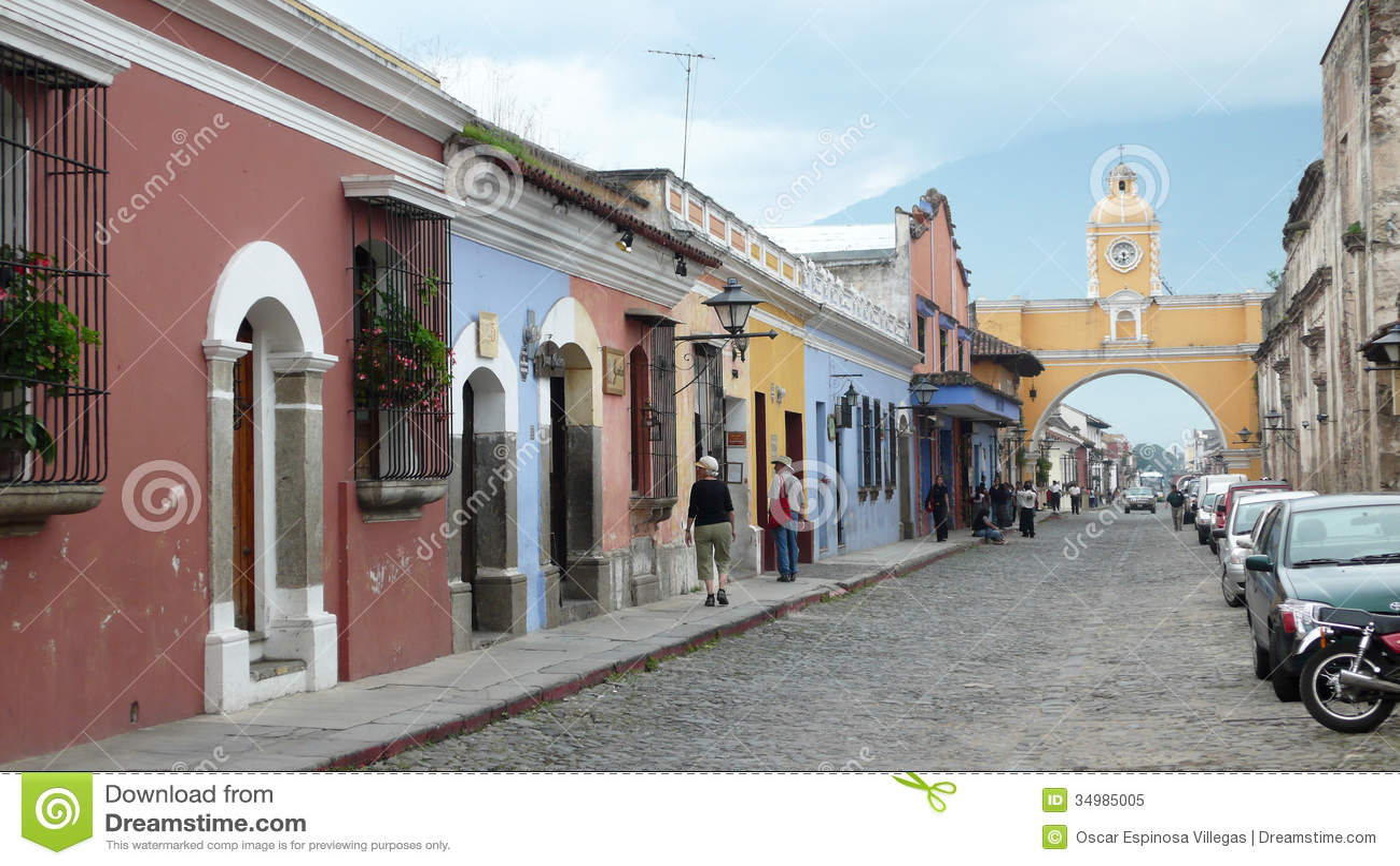 Arco De Santa Catalina à l Antigua. Guatemala