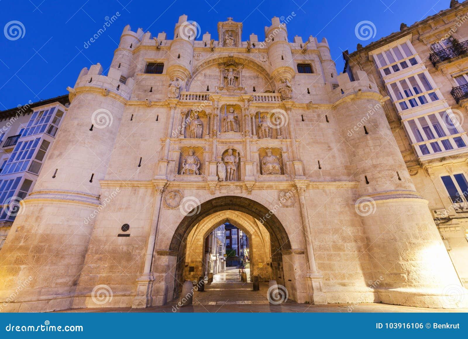 Arco De Santa Maria à Burgos