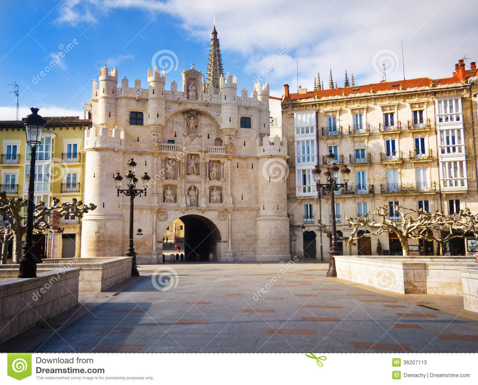 Arco De Santa Maria Stock Photos - Image: 36207113