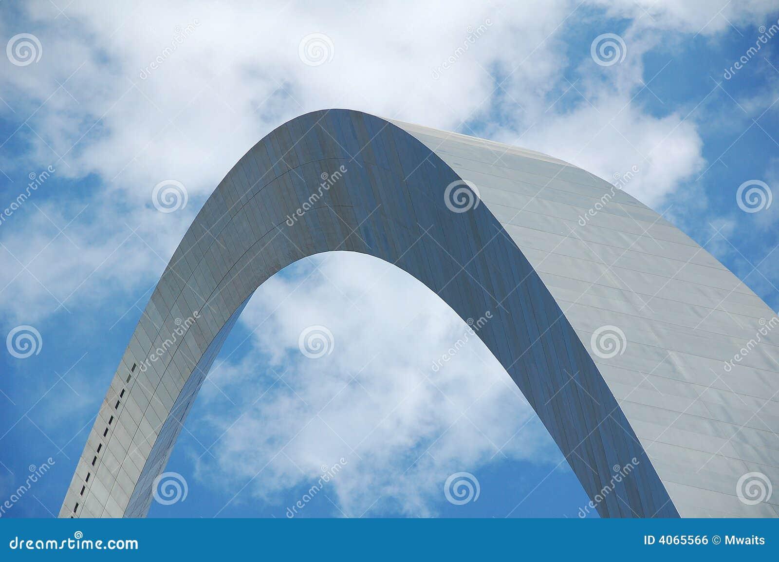 Arco de St Louis em Missouri