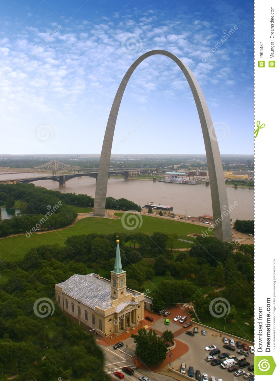 Arco de St. Louis - Jefferson