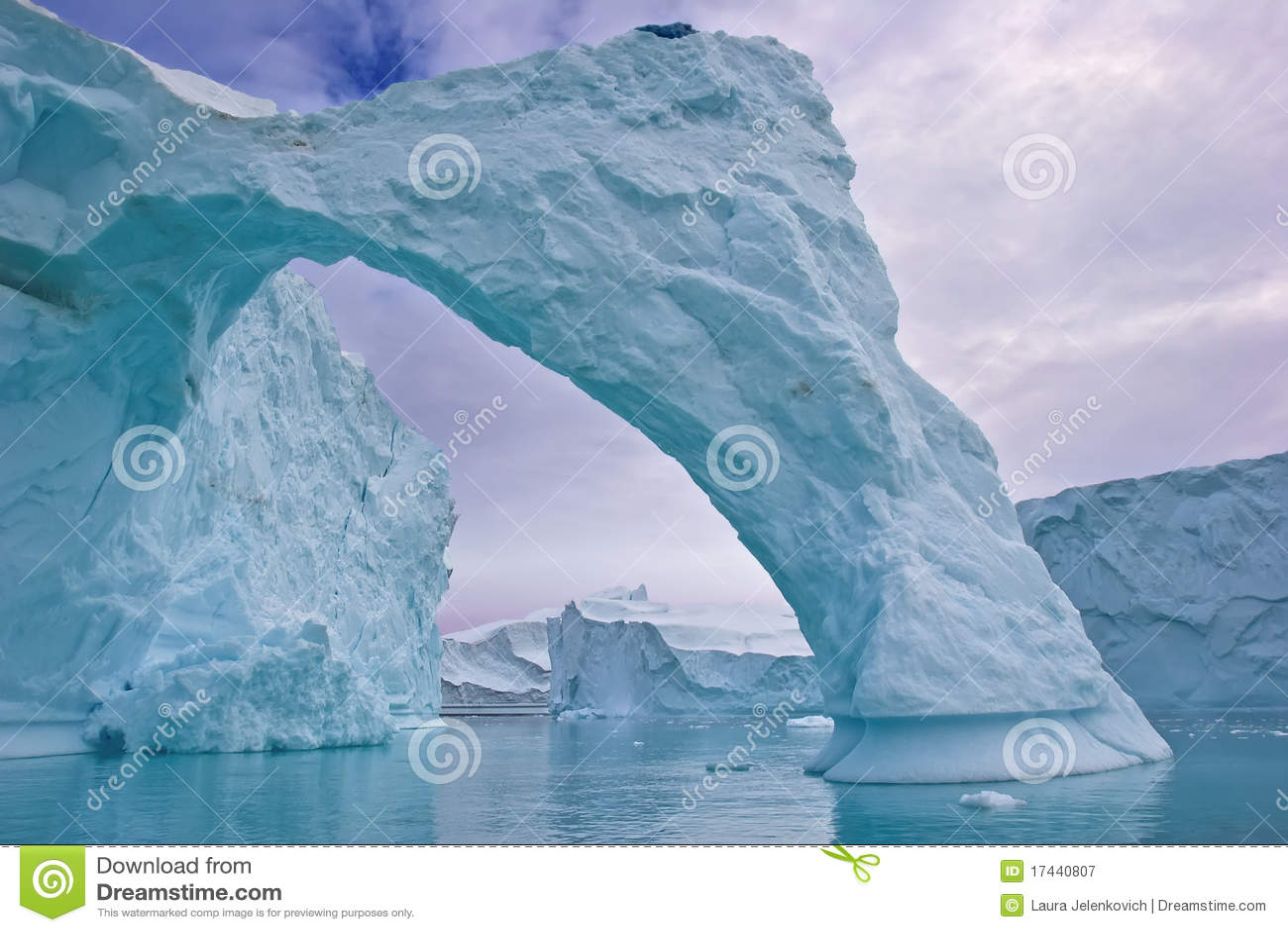 Arco del iceberg