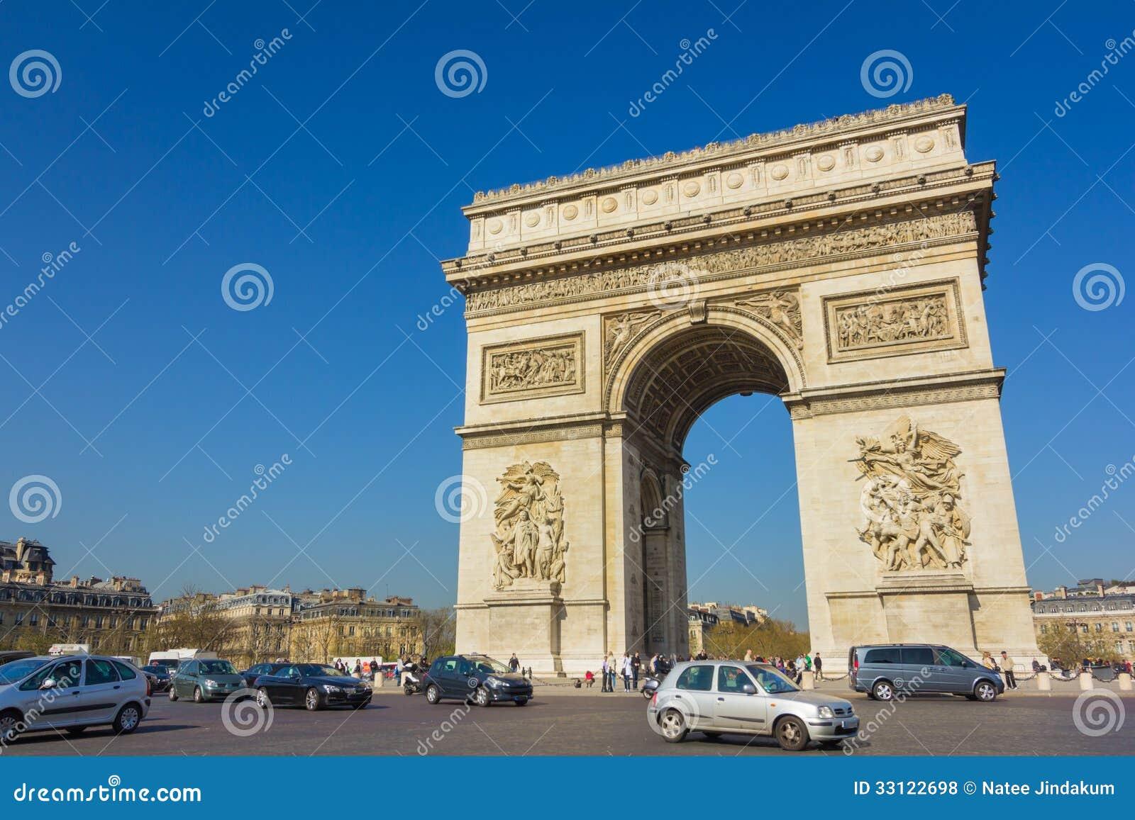 Arco del Triunfo - París - Francia