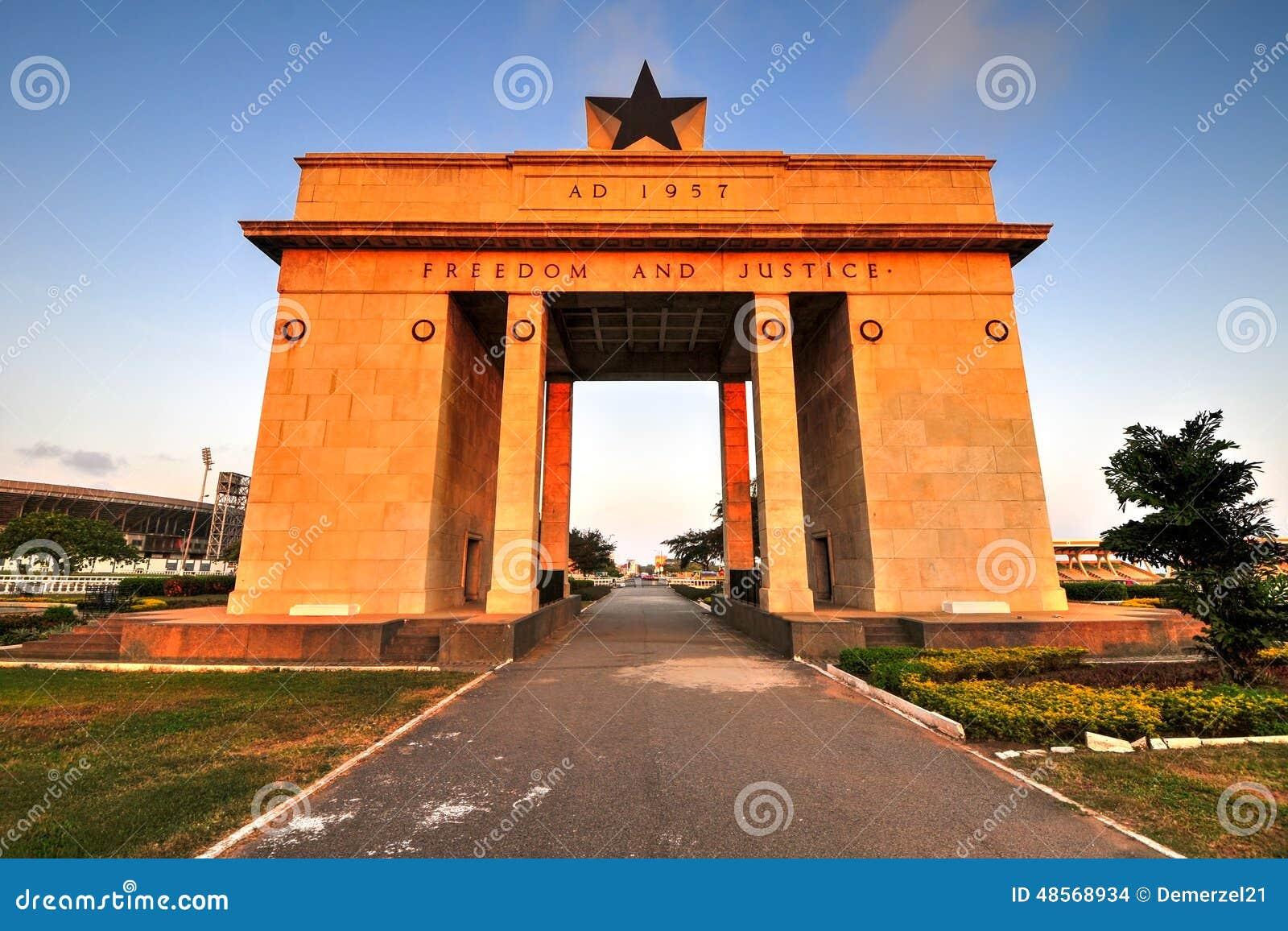 Arco di indipendenza, Accra, Ghana