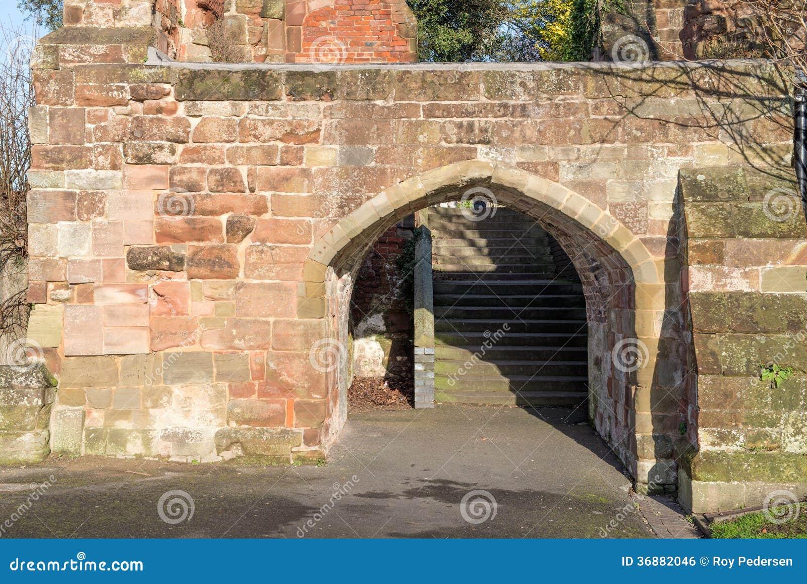 Download Arco di pietra fotografia stock. Immagine di storia, pietra - 36882046