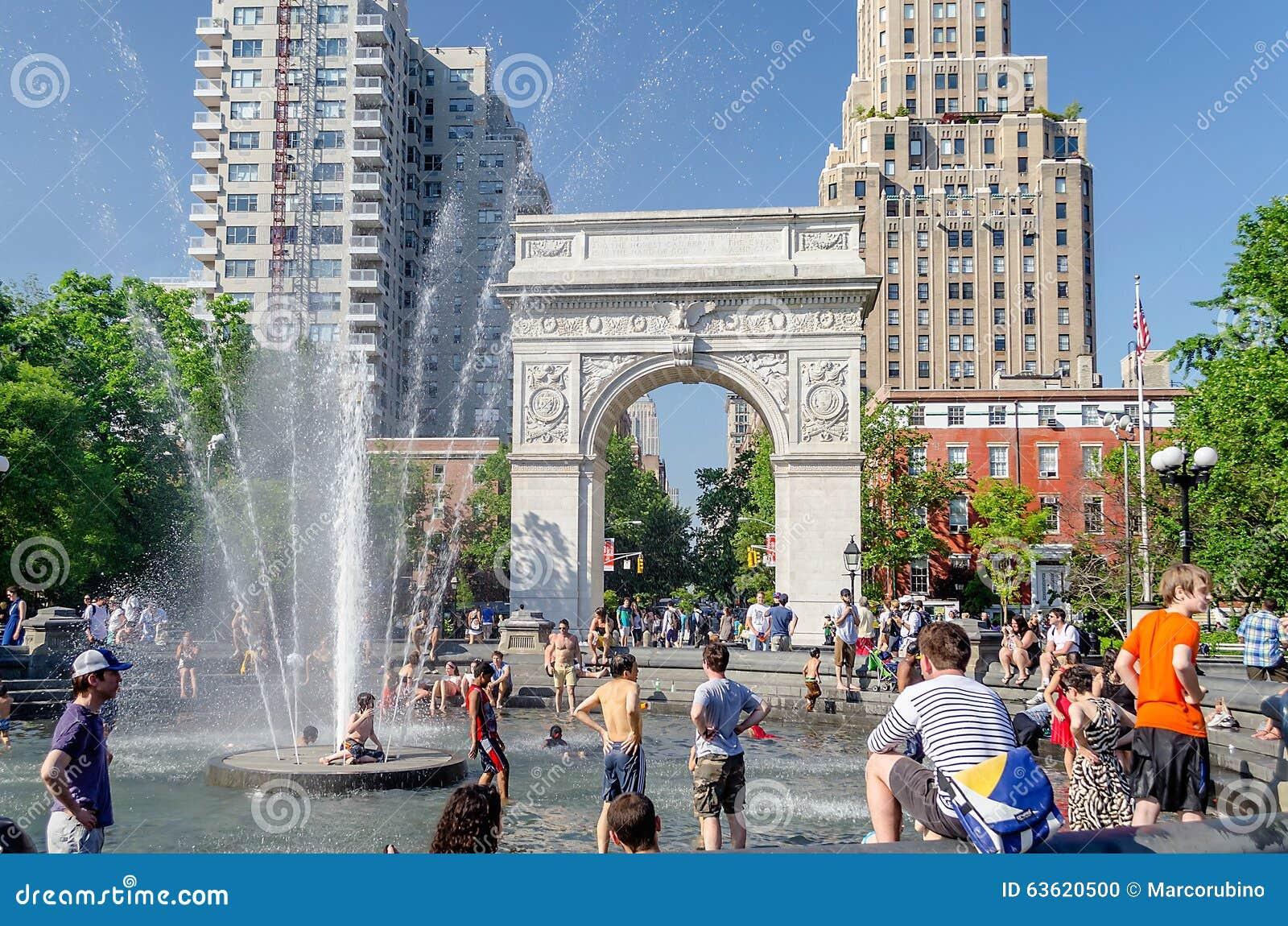 Arco Di Washington Square, New York Immagine Editoriale - Immagine ...