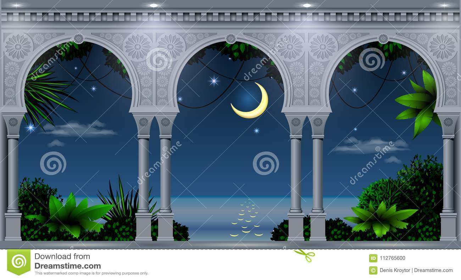 Arco do palácio oriental