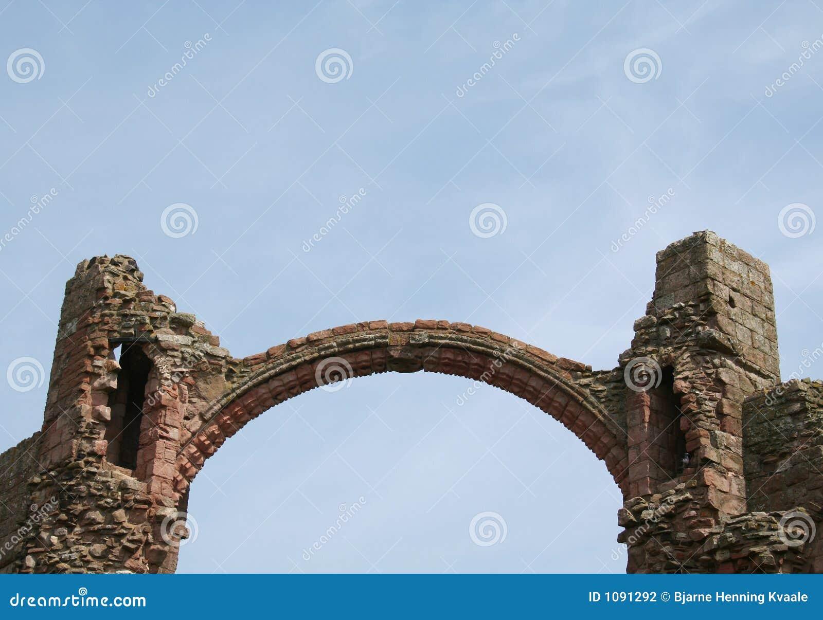 Arco em Lindisfarne