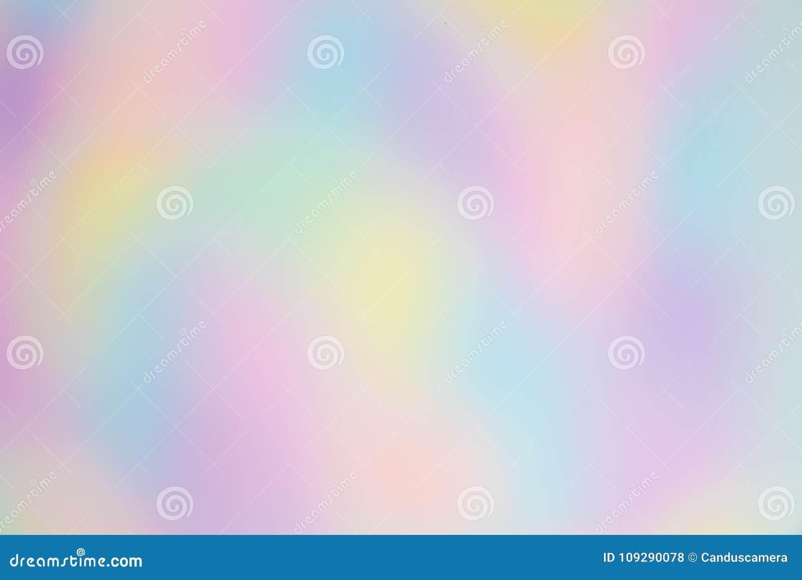 Arco iris borroso y bonito o fondo coloreado multi con formas orgánicas, Libre-formadas
