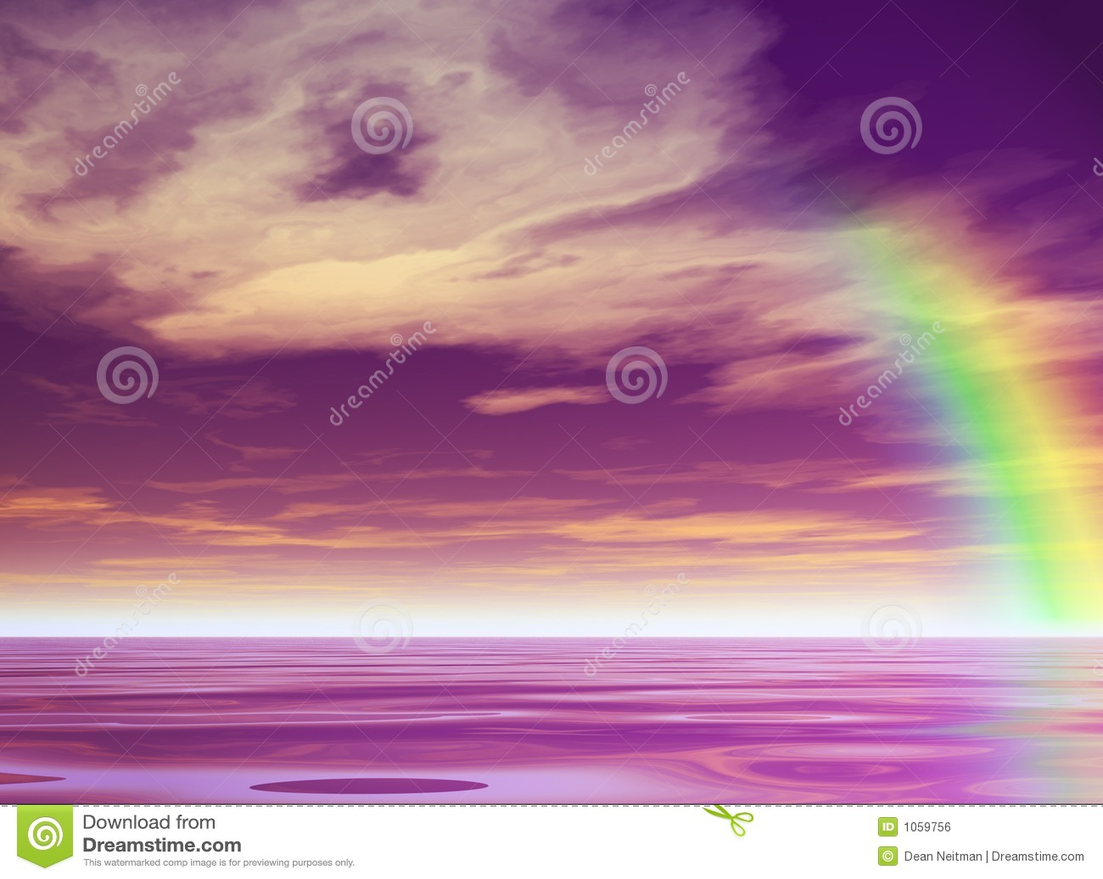 Arco iris púrpura