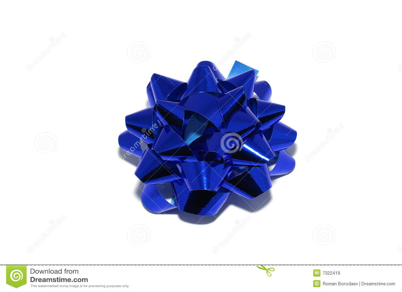 Arco lucido blu
