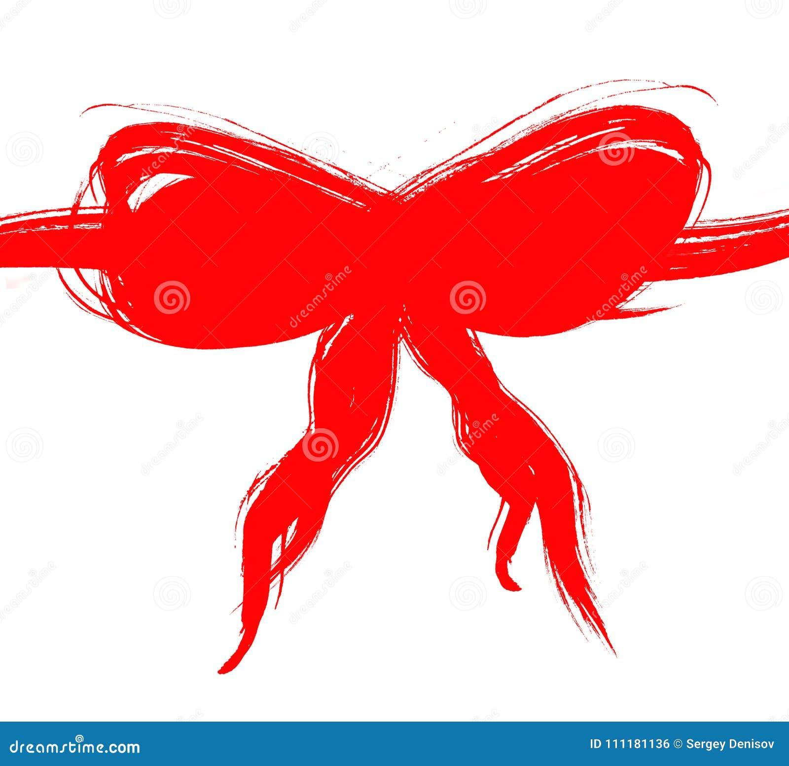 Arco rojo del Grunge