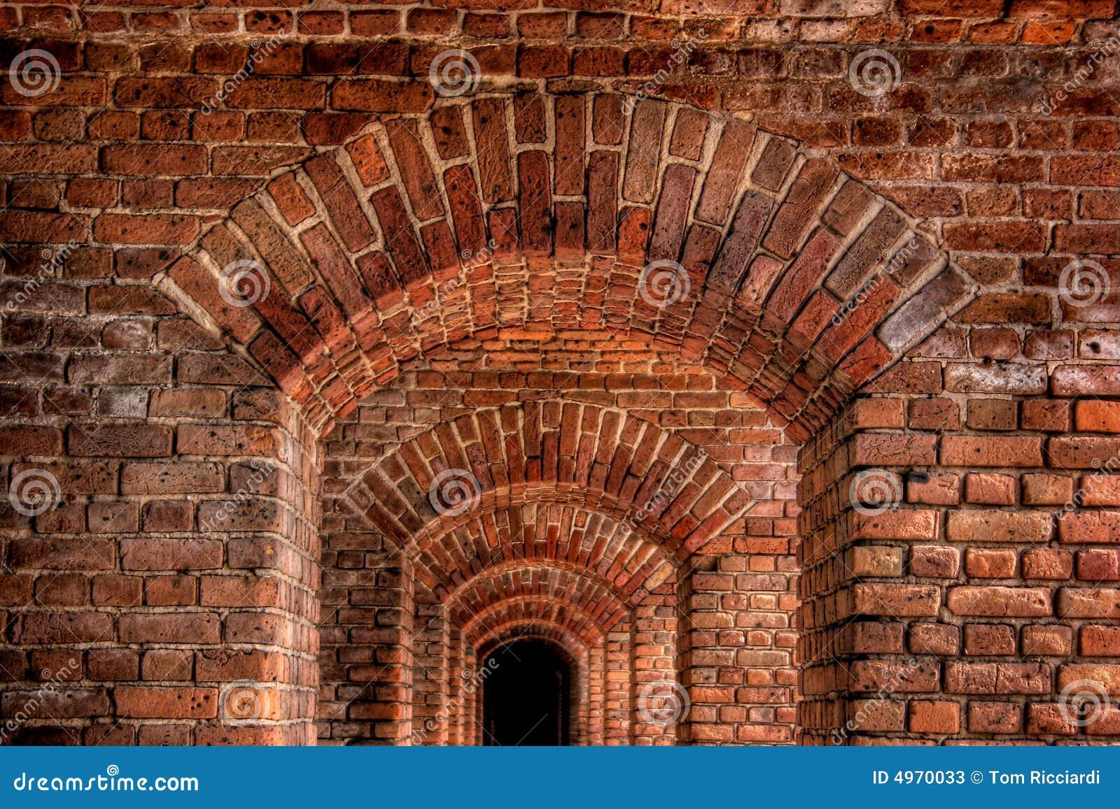 Arcos del ladrillo imagen de archivo imagen de ladrillos for Arcos de ladrillo