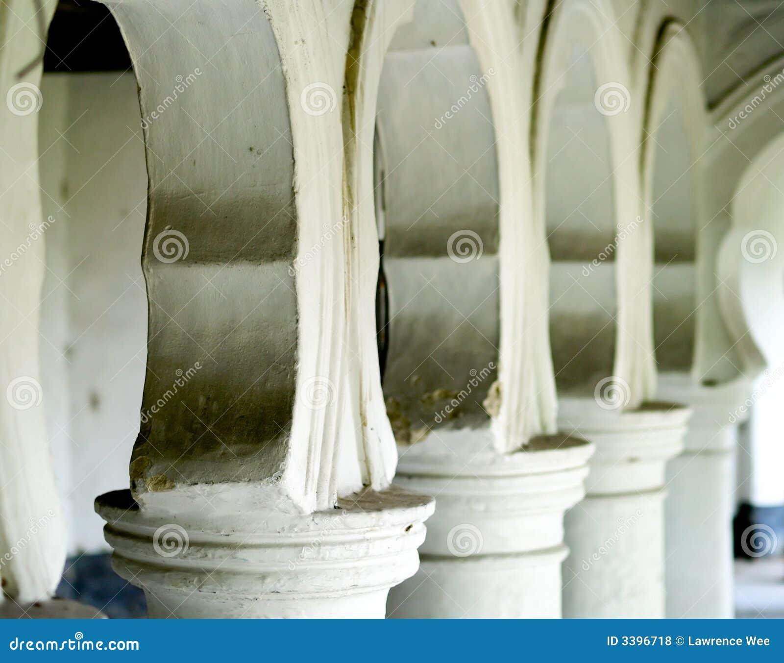 Arcos y columnas
