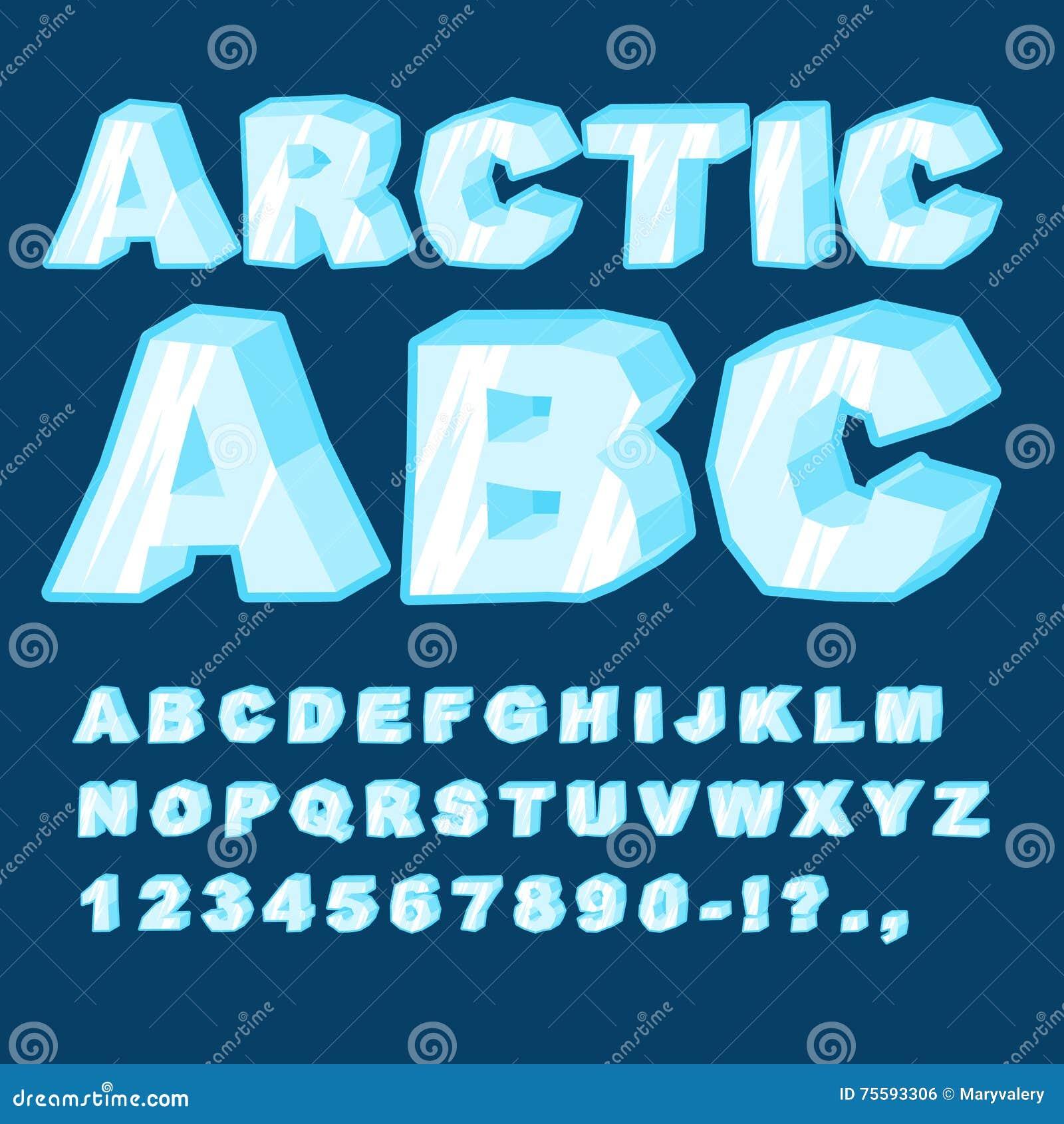 Iceburg  Letters
