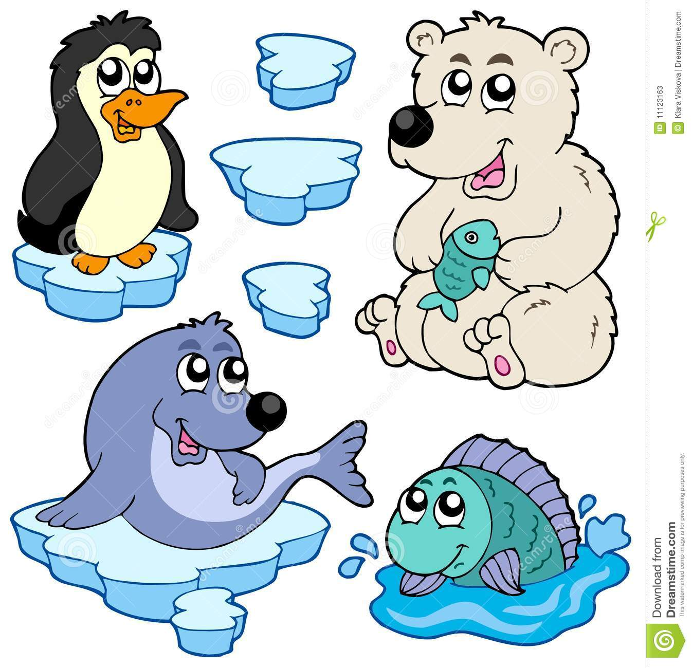 Displaying Images For - Arctic Animals Clipart...