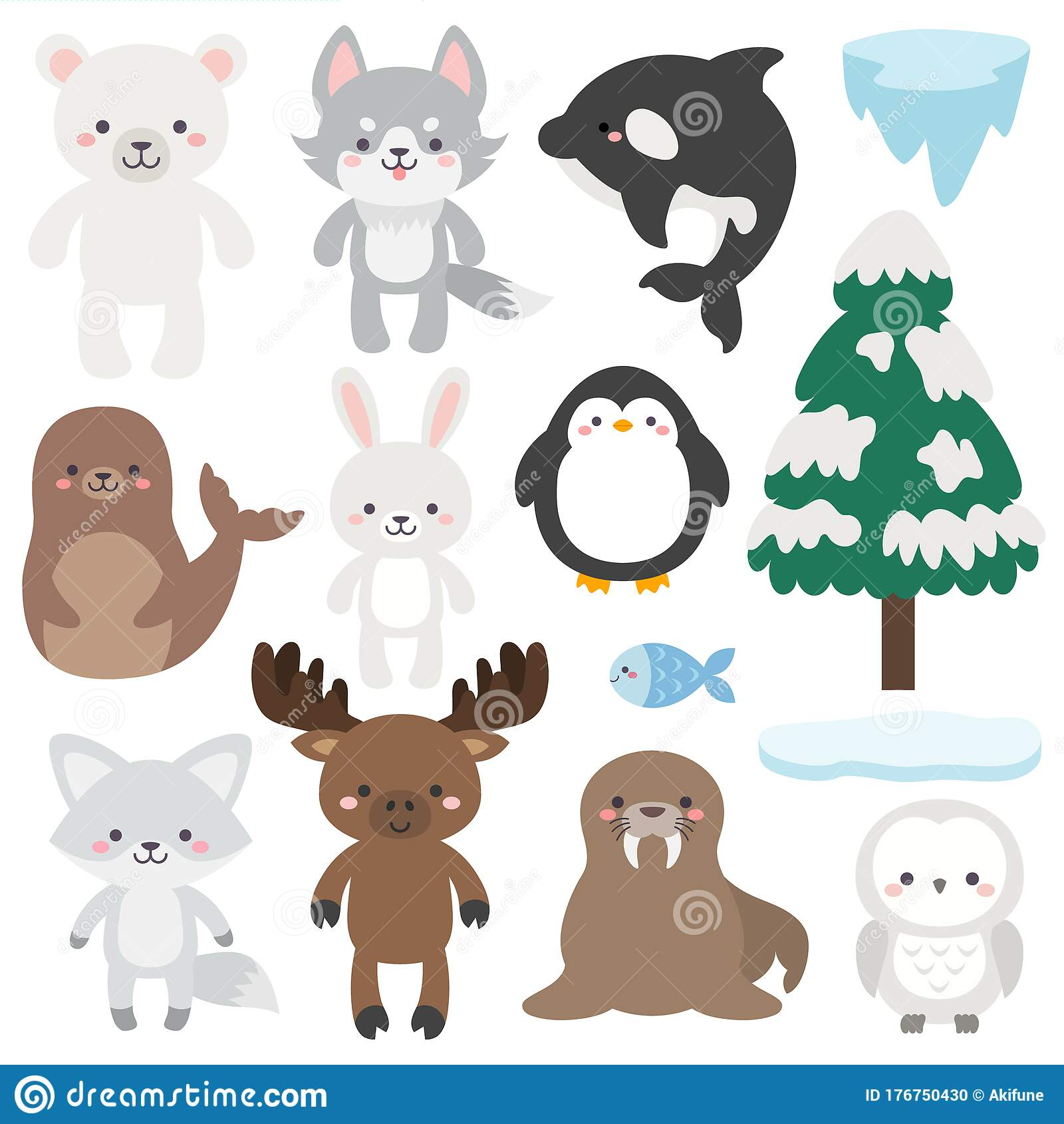 Winter Animals Stock Illustrations 19 105 Winter Animals Stock Illustrations Vectors Clipart Dreamstime