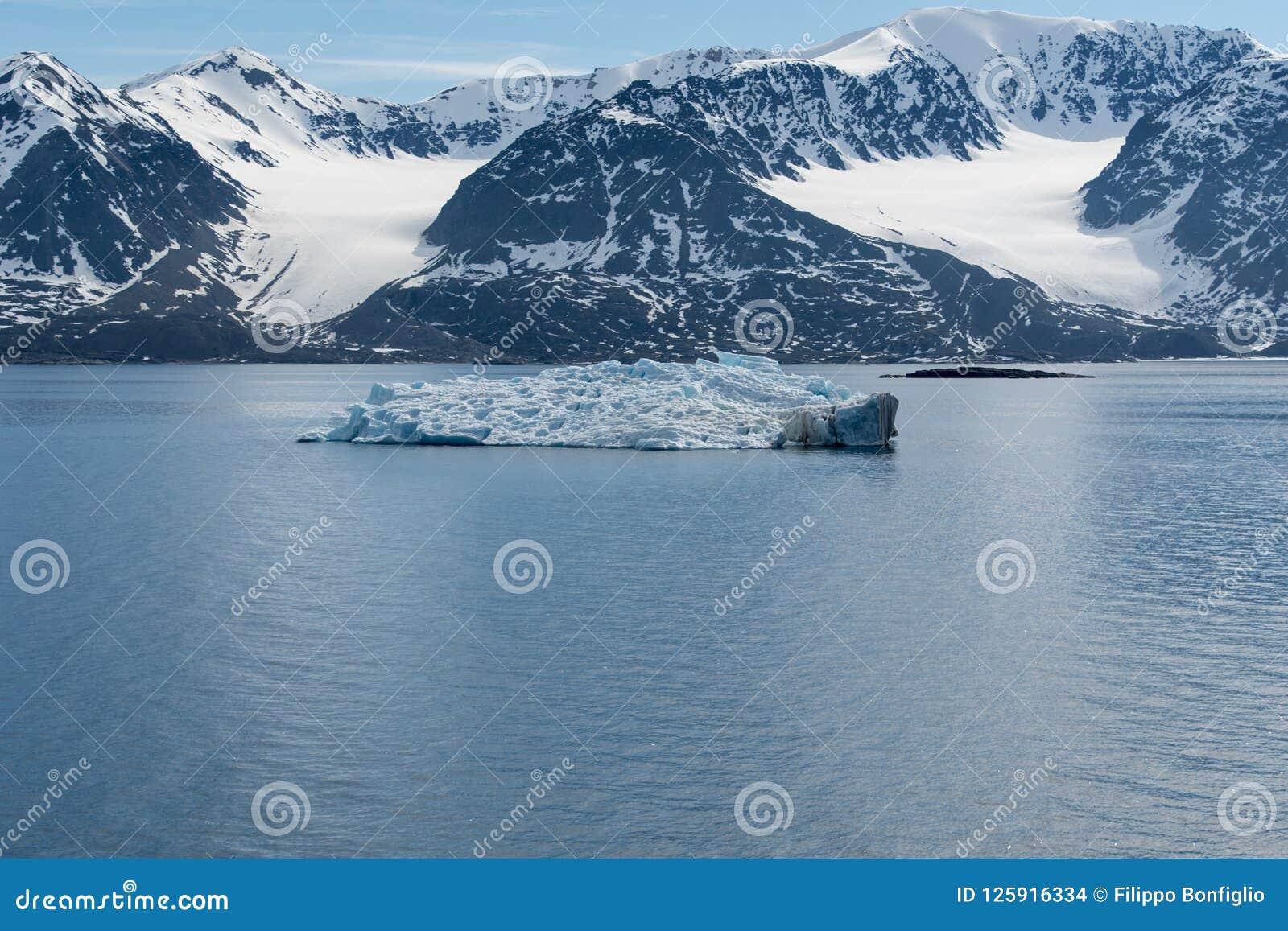Arctic Landscape, Svalbard Island, Norway 2018