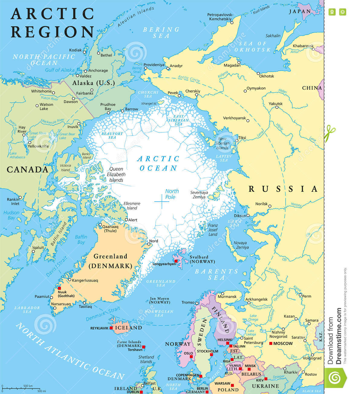 an in depth look at the arctic ocean in the north pole region The arctic ocean, centred on the geographic north pole, has an area of about   in the arctic ocean, the circulation at depth is very different to the circulation on   the higher pressure at greater depths – can seem insignificant (a few dozen kg.