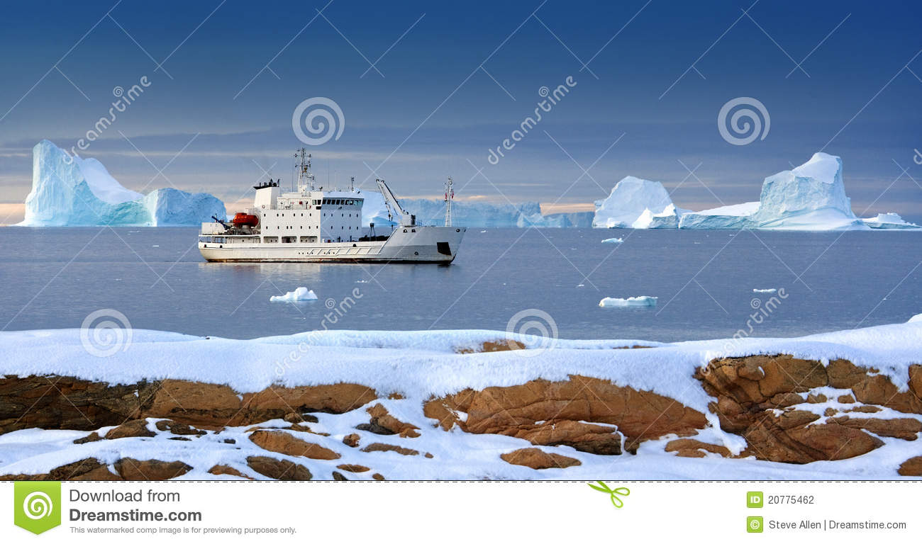 Arctic - Tourist Icebreaker - Svalbard Islands