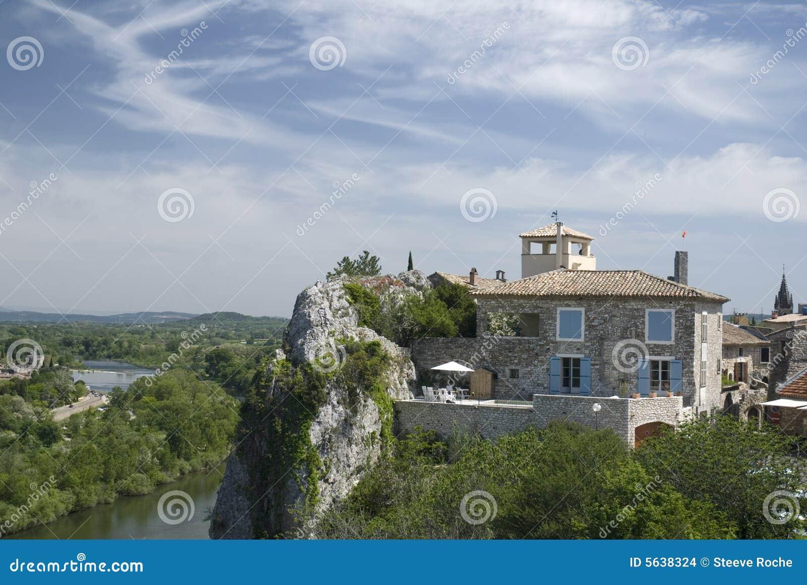 Ardèche Schluchten. Frankreich