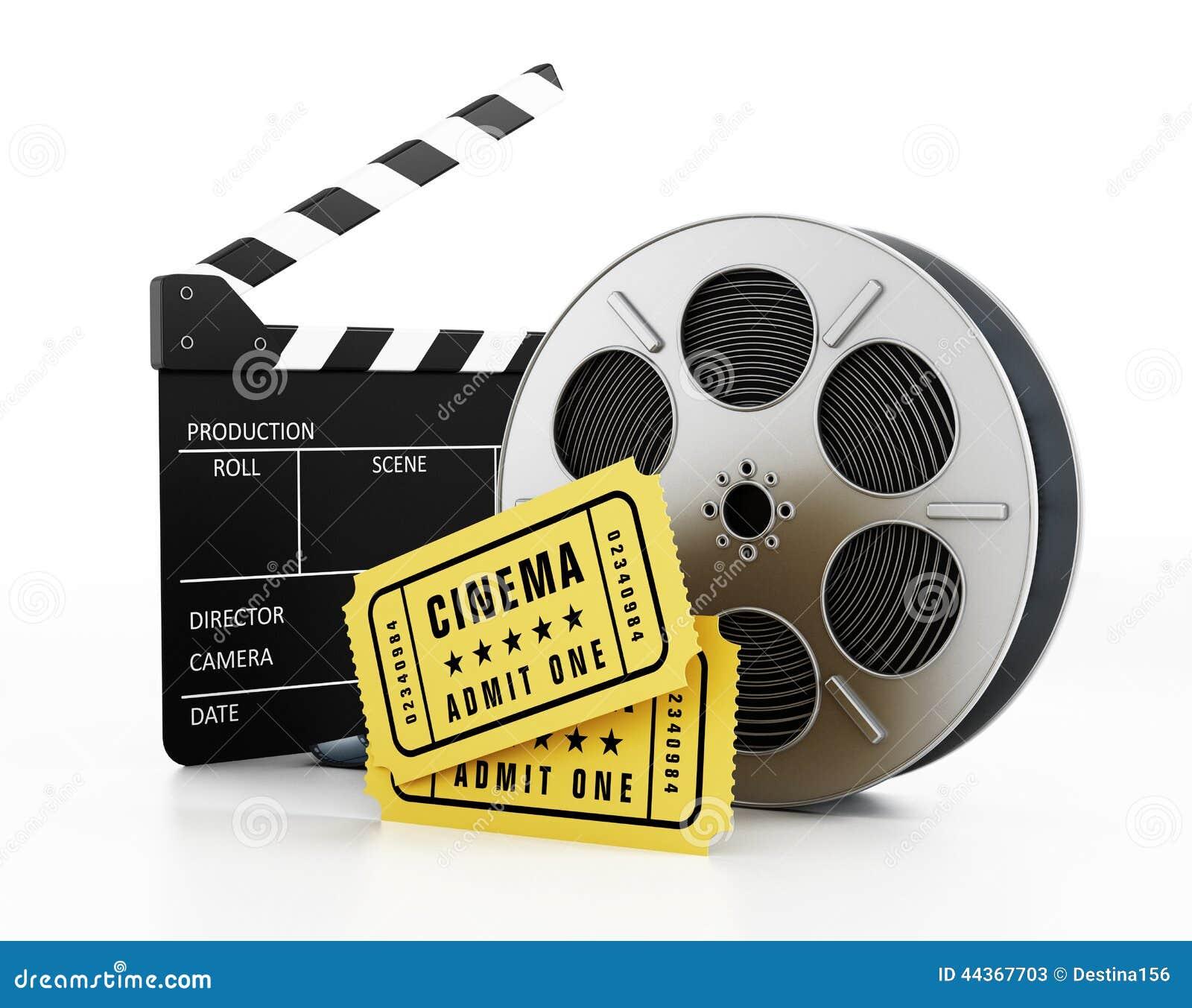 Ardesia, bobina e biglietti del film