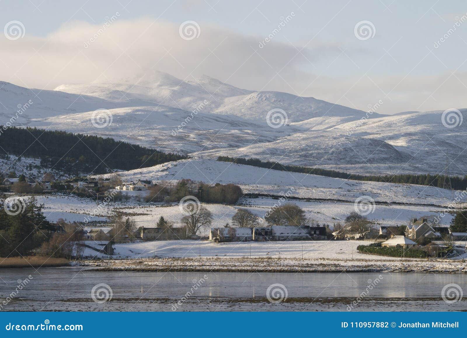 Snow Beautiful - Winter Scenes In The Scottish Highlands