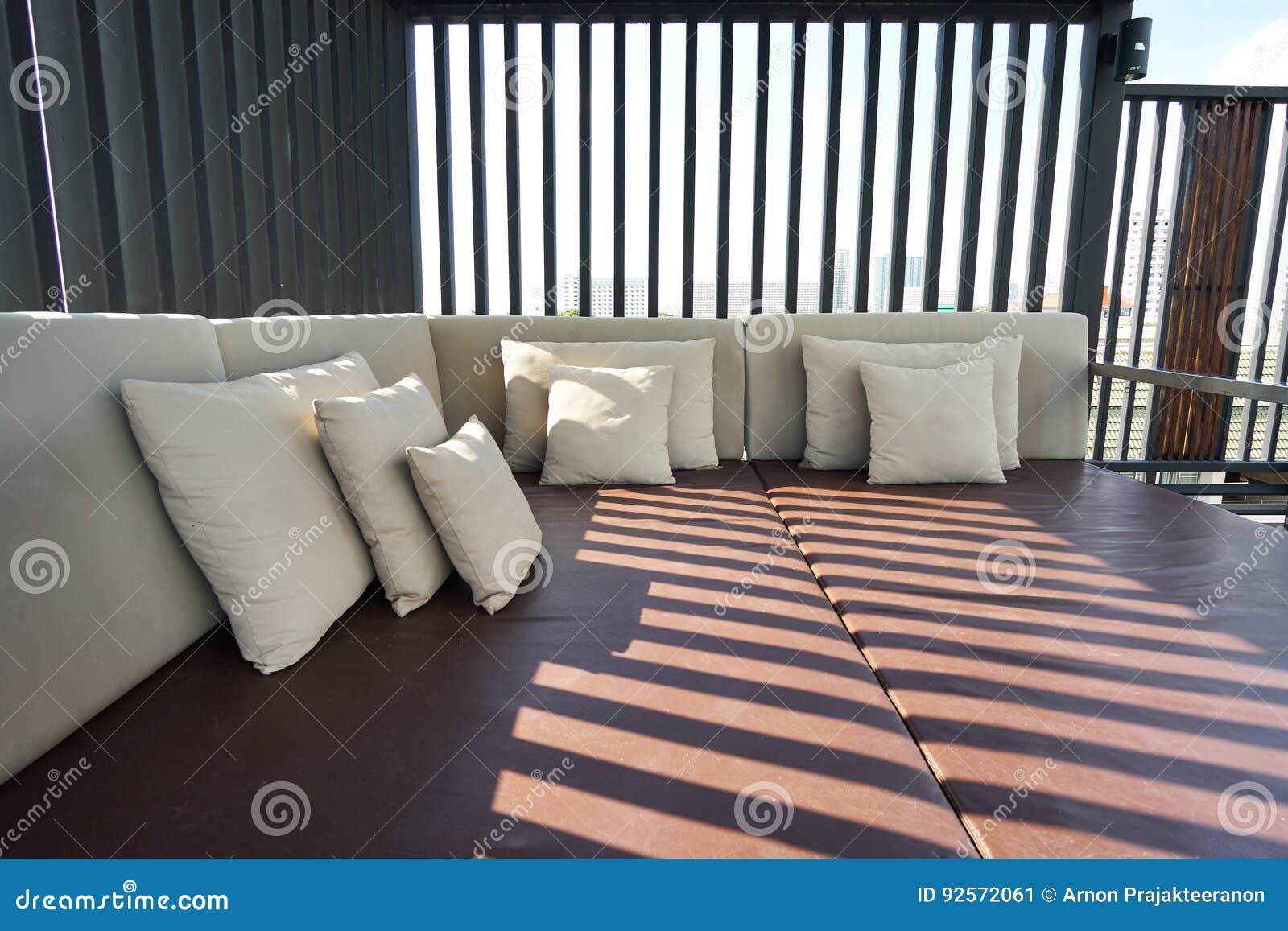 Area all aperto di lusso di massaggio