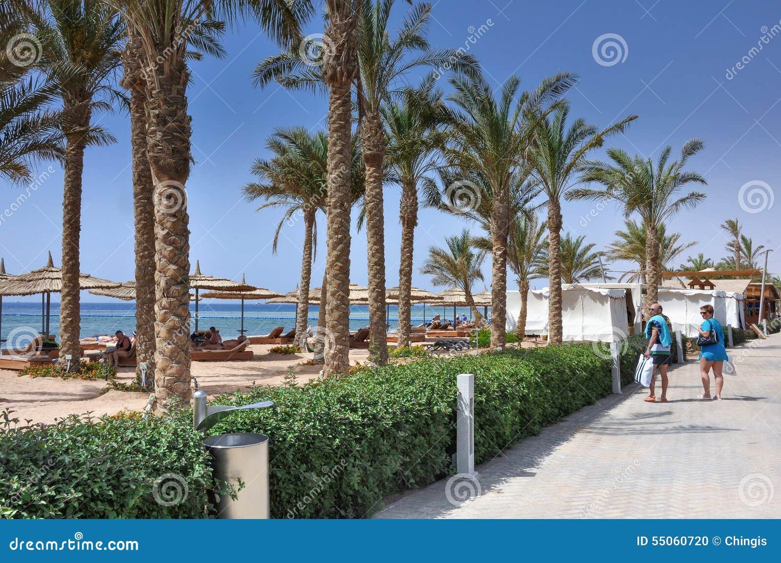 Area Di Località Di Soggiorno Dell\'Egitto Di Sharm El-Sheikh ...