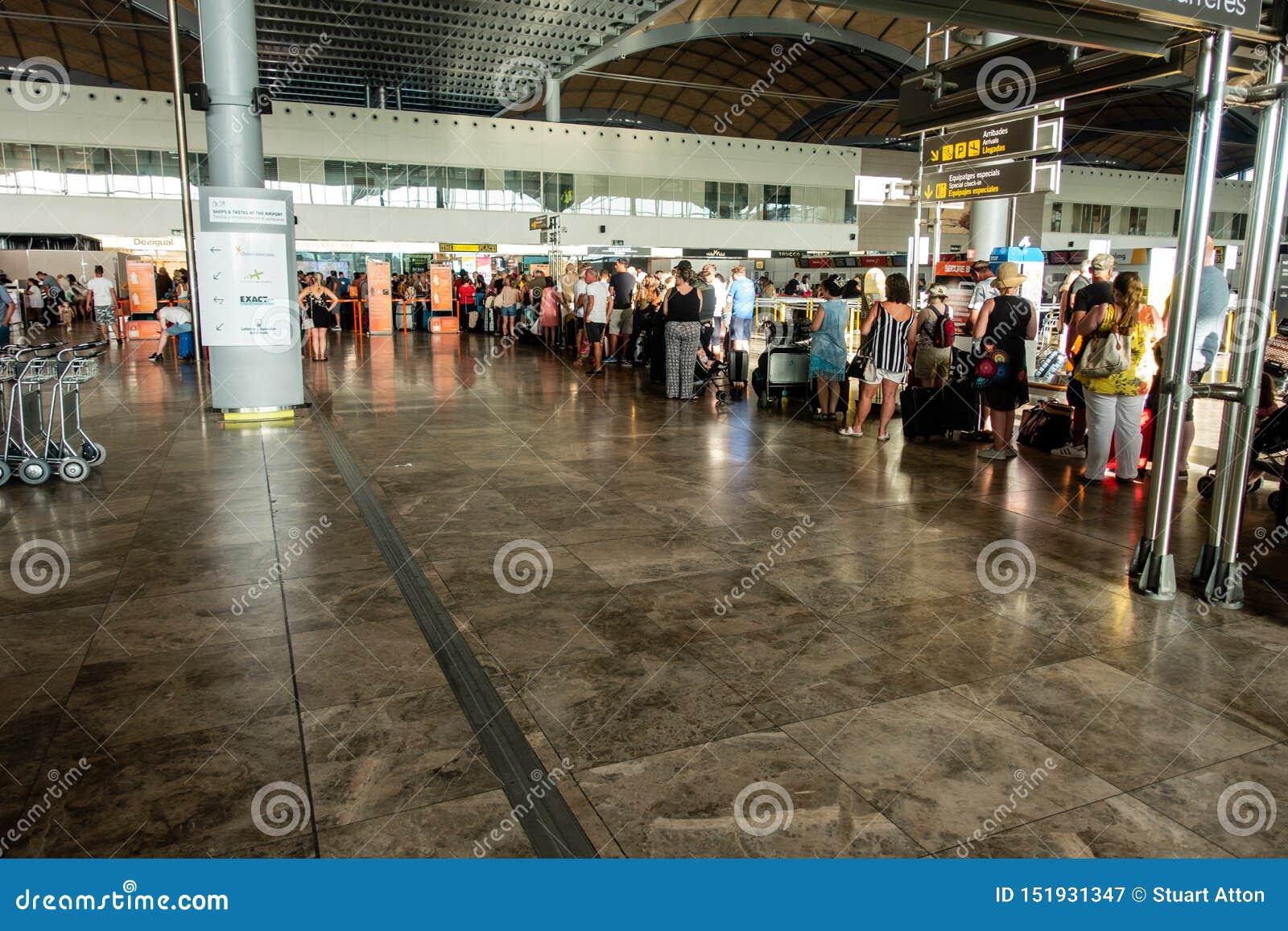 Area di partenza dell aeroporto