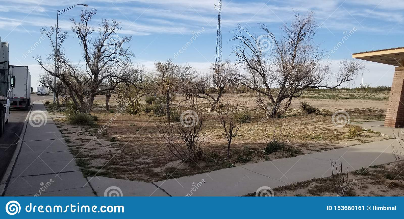 Area di riposo in Arizona