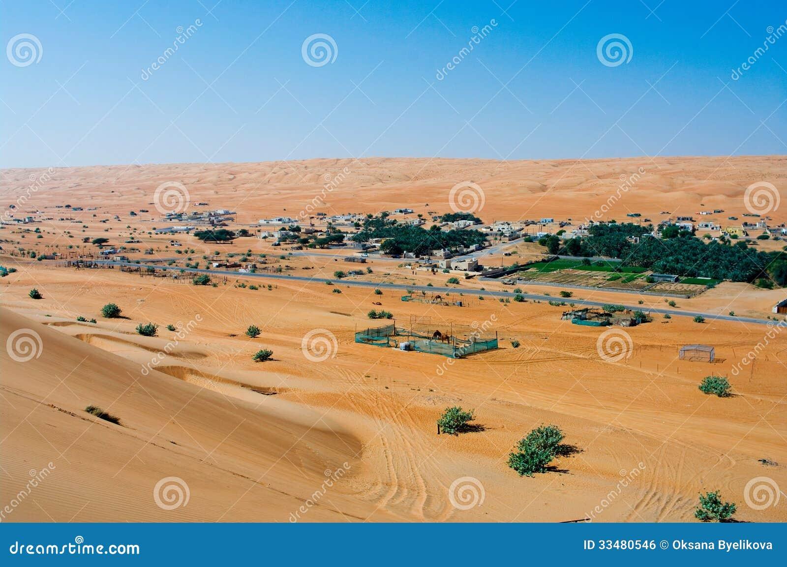 Areias de Wahiba, Omã