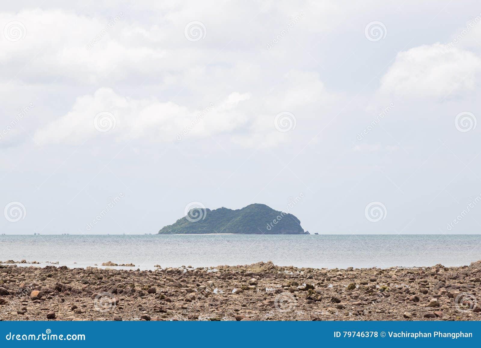 Arena de la isla y de la playa