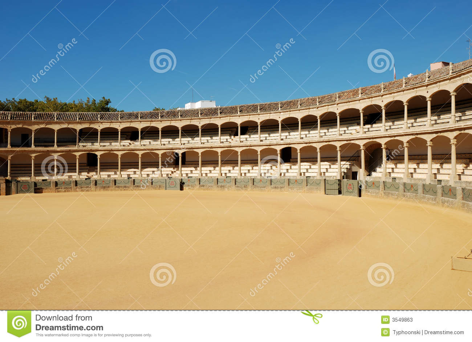 Arena de la tauromaquia en Ronda