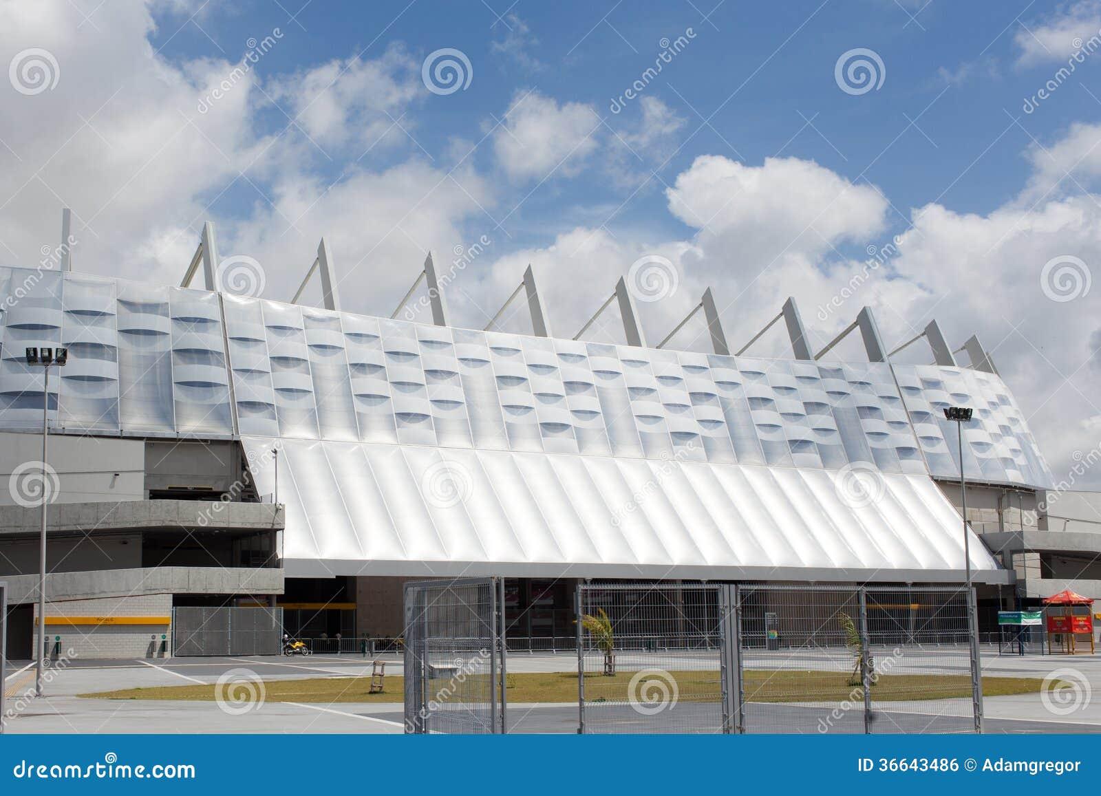 Arena de Pernambuco en Recife en el Brasil