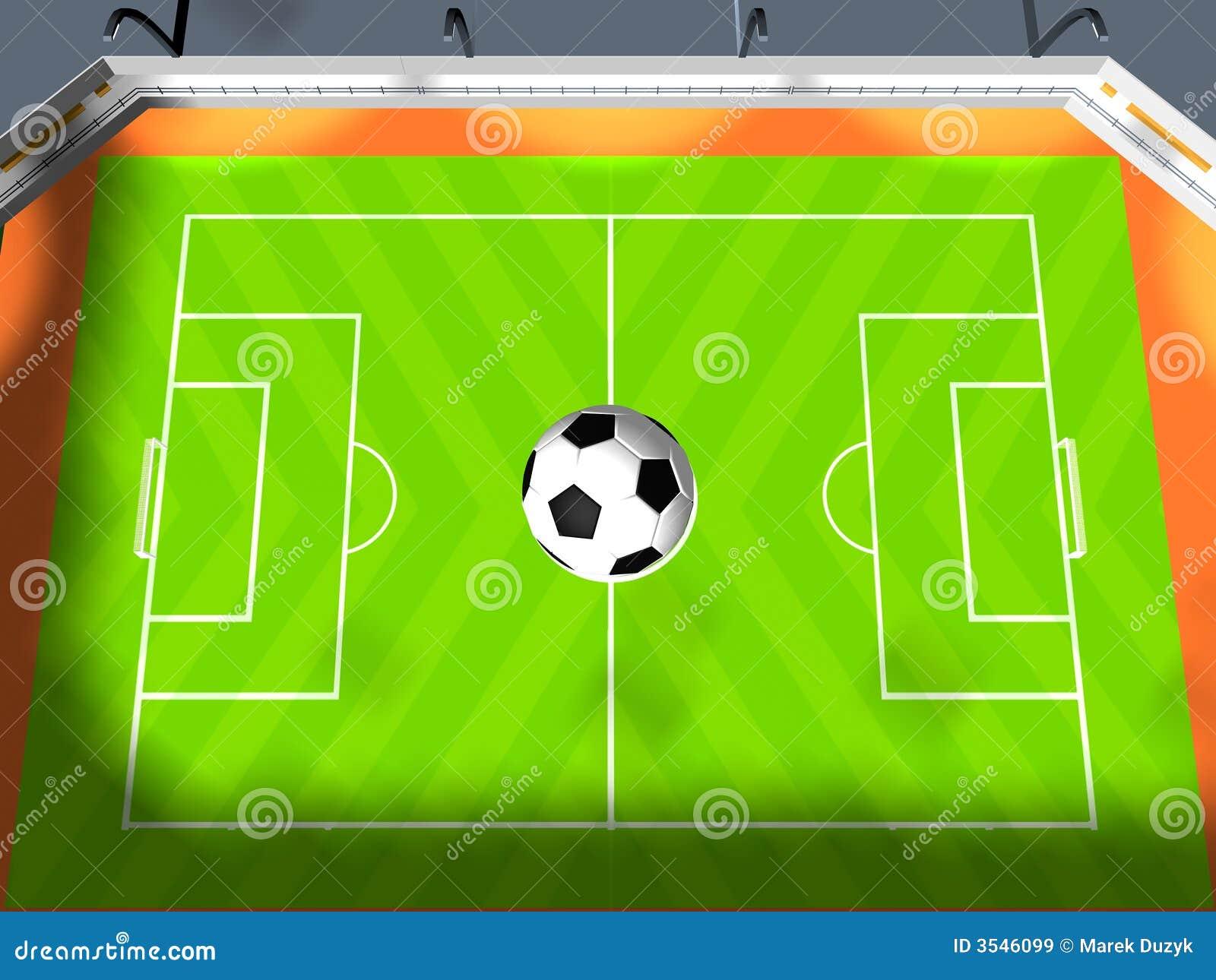 Arena del fútbol