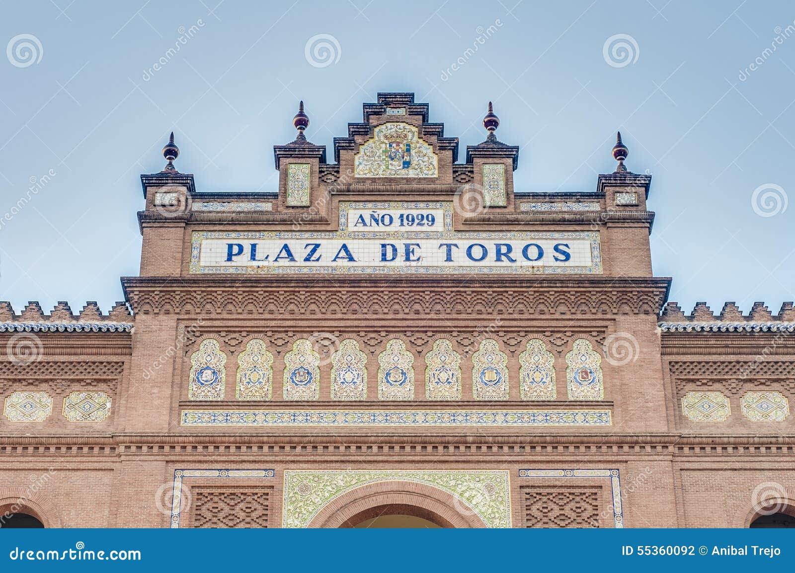Arena di Las Ventas a Madrid, Spagna