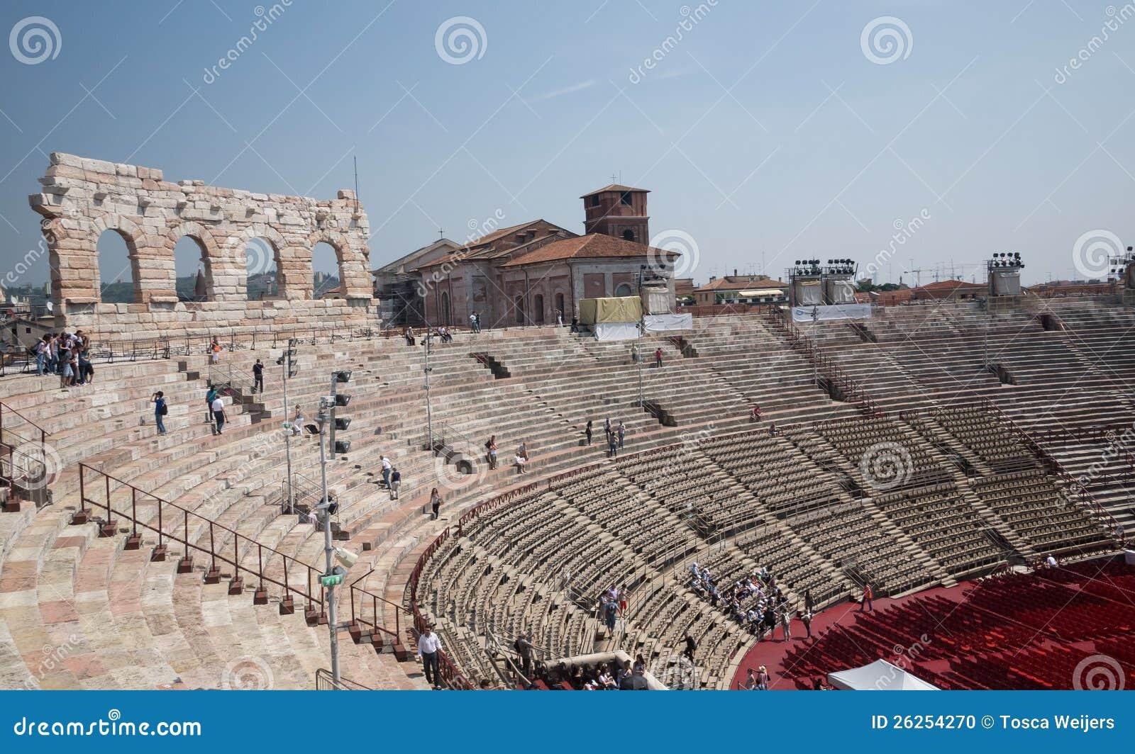 Arena Di Verona Stock Photo - Image: 26254270