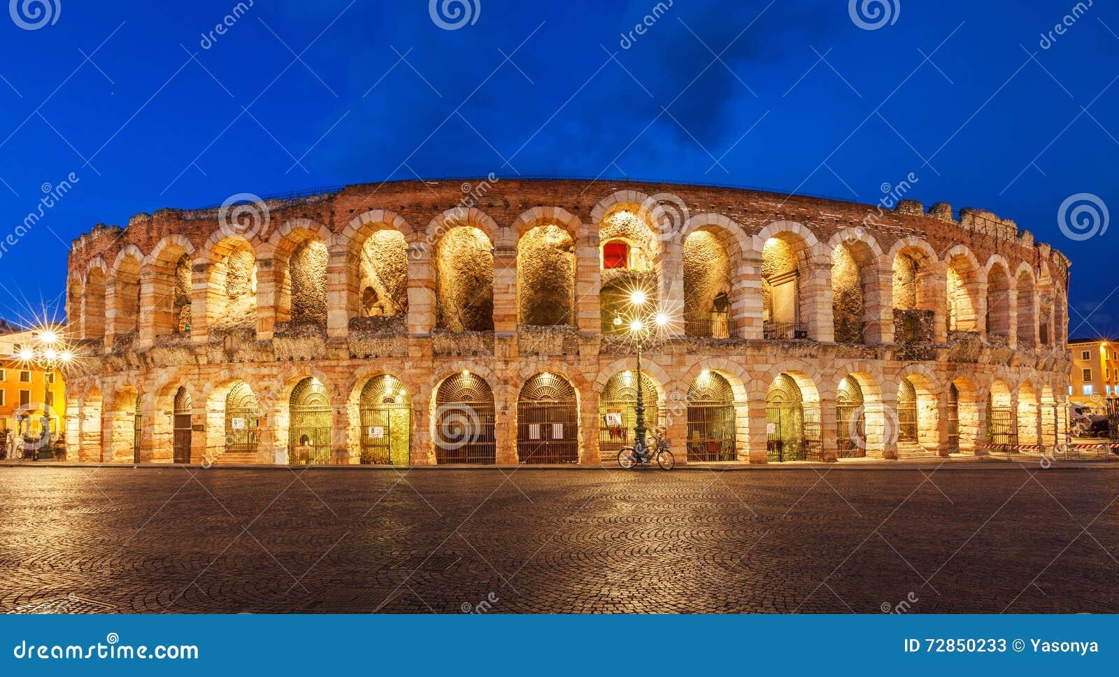 Arena Di Verona Theatre In Italy Stock Image - Image of ...