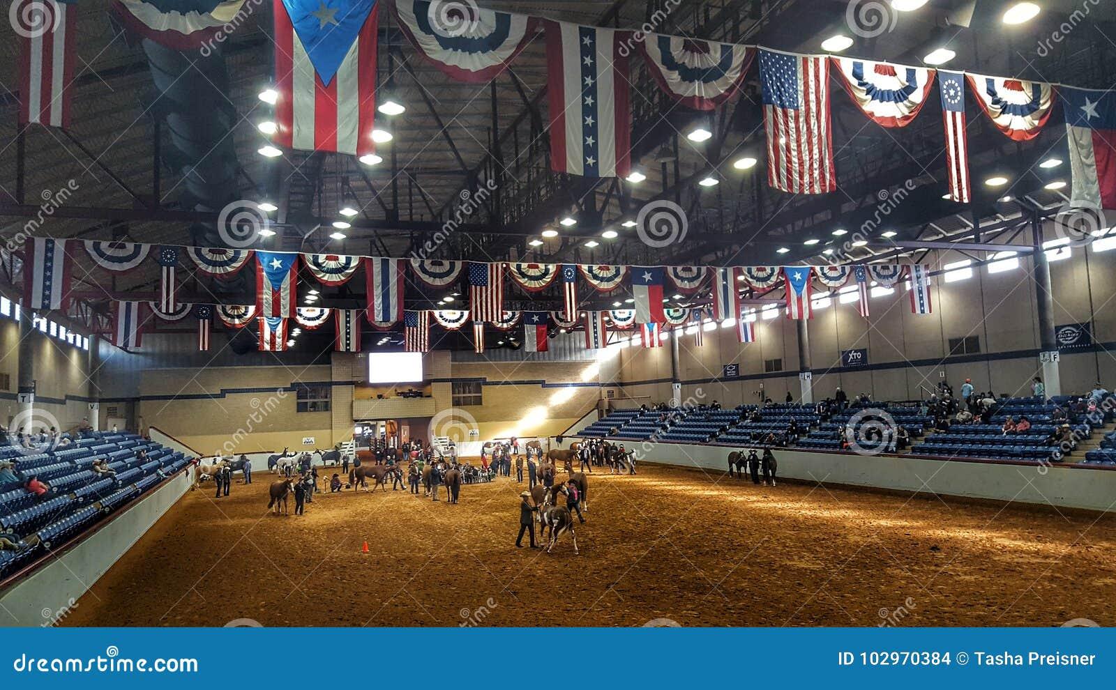 Arena do rodeio