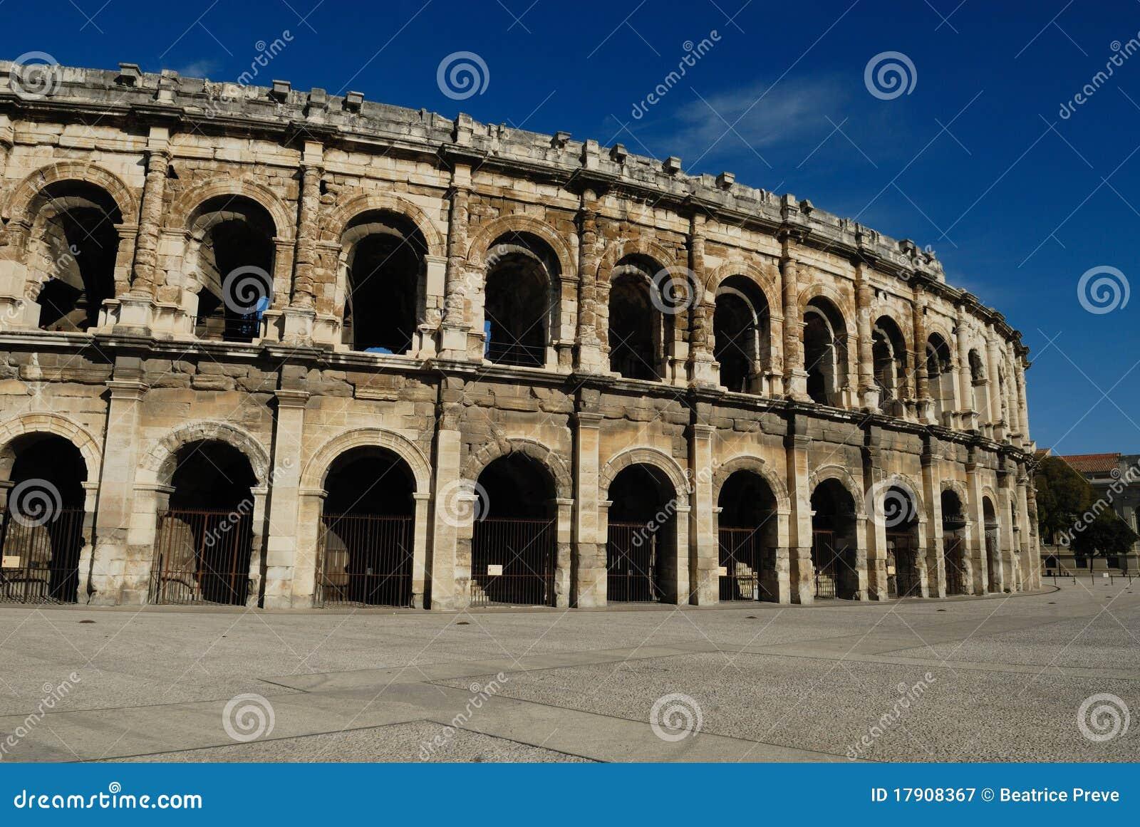 Arena romana em Nimes France