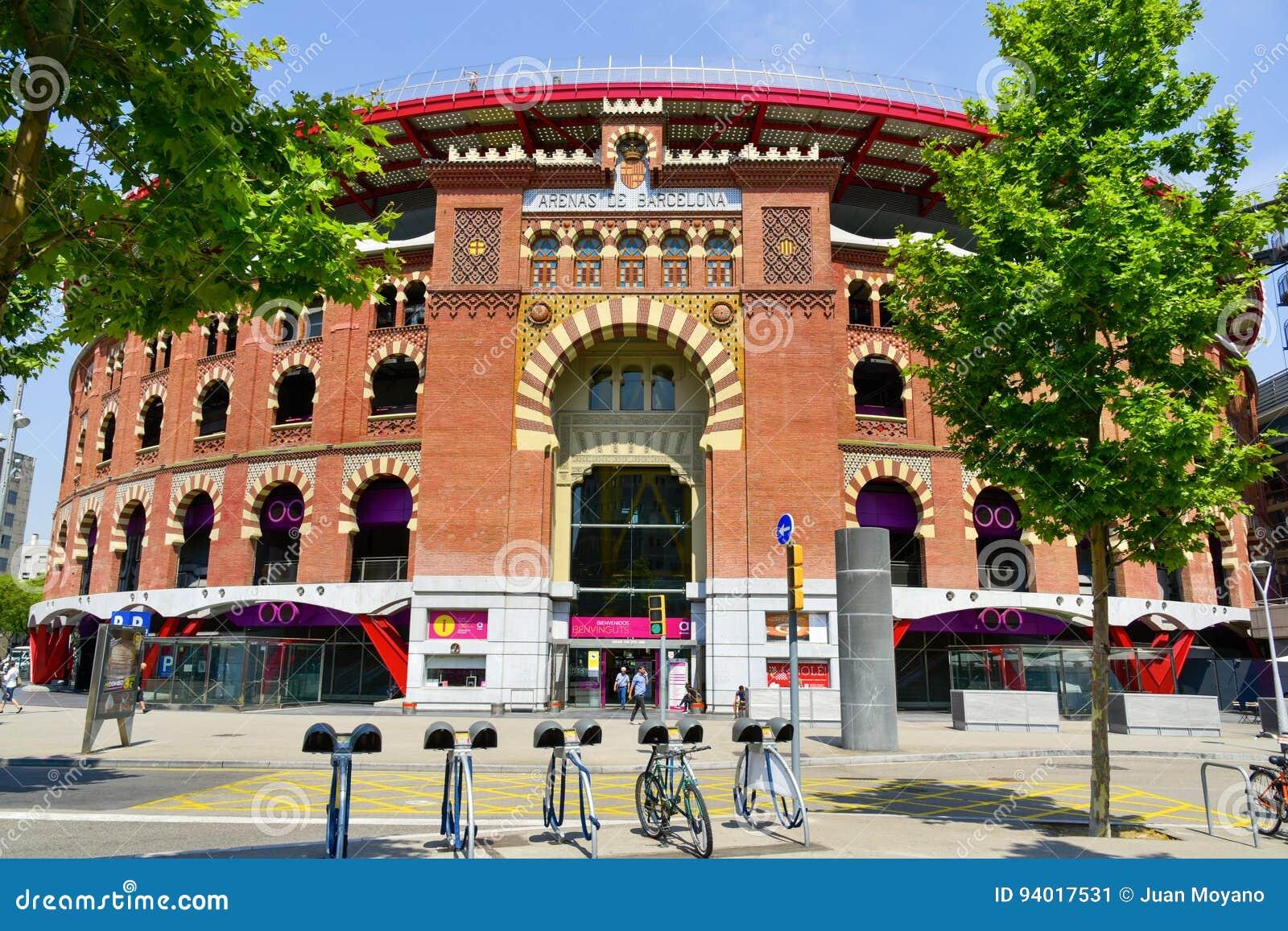 Arena s DE Barcelona, in Barcelona, Spanje