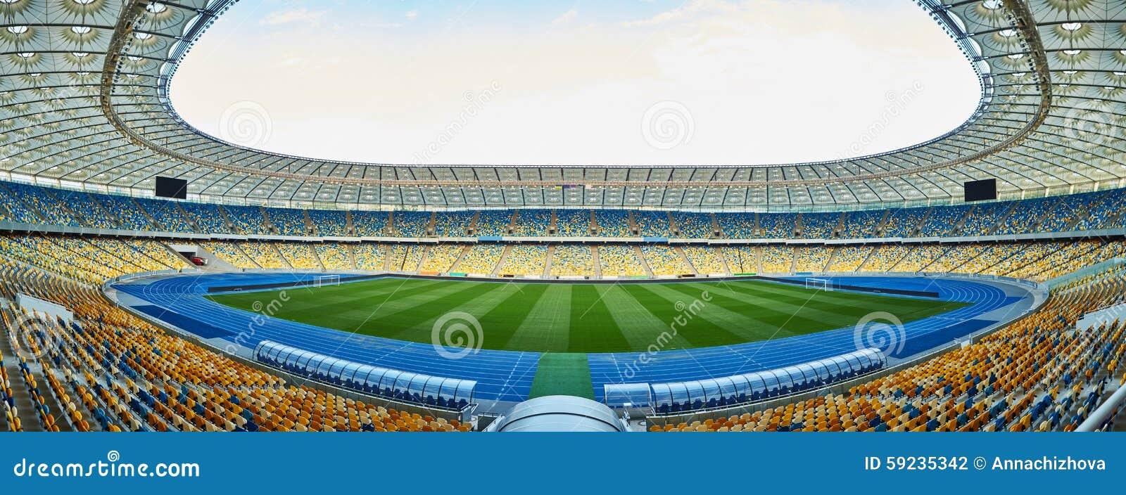 Download Arena Vacía Enorme Del Fútbol Foto de archivo - Imagen de campo, balompié: 59235342