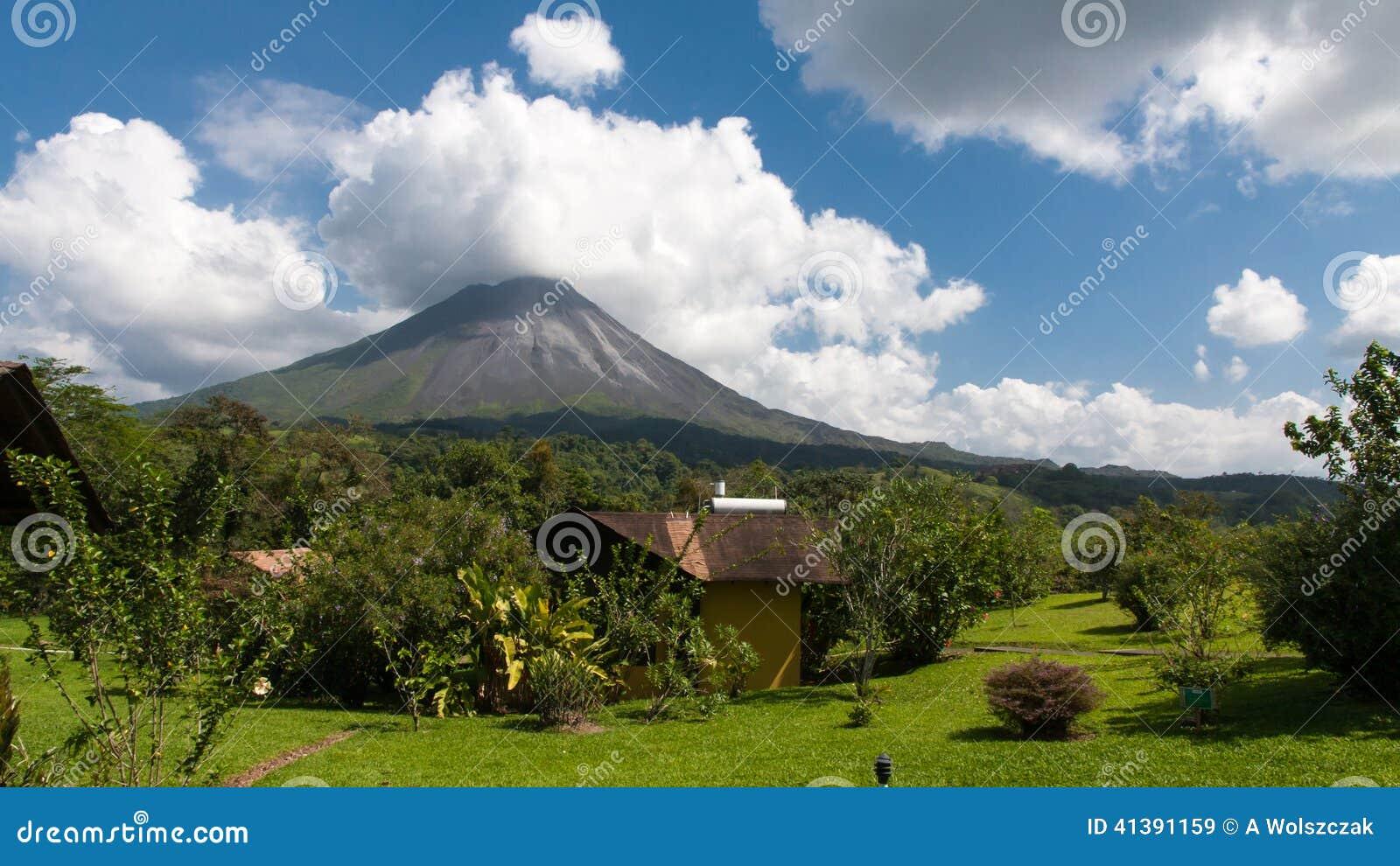 Arenal Vulkaan in Costa Rica