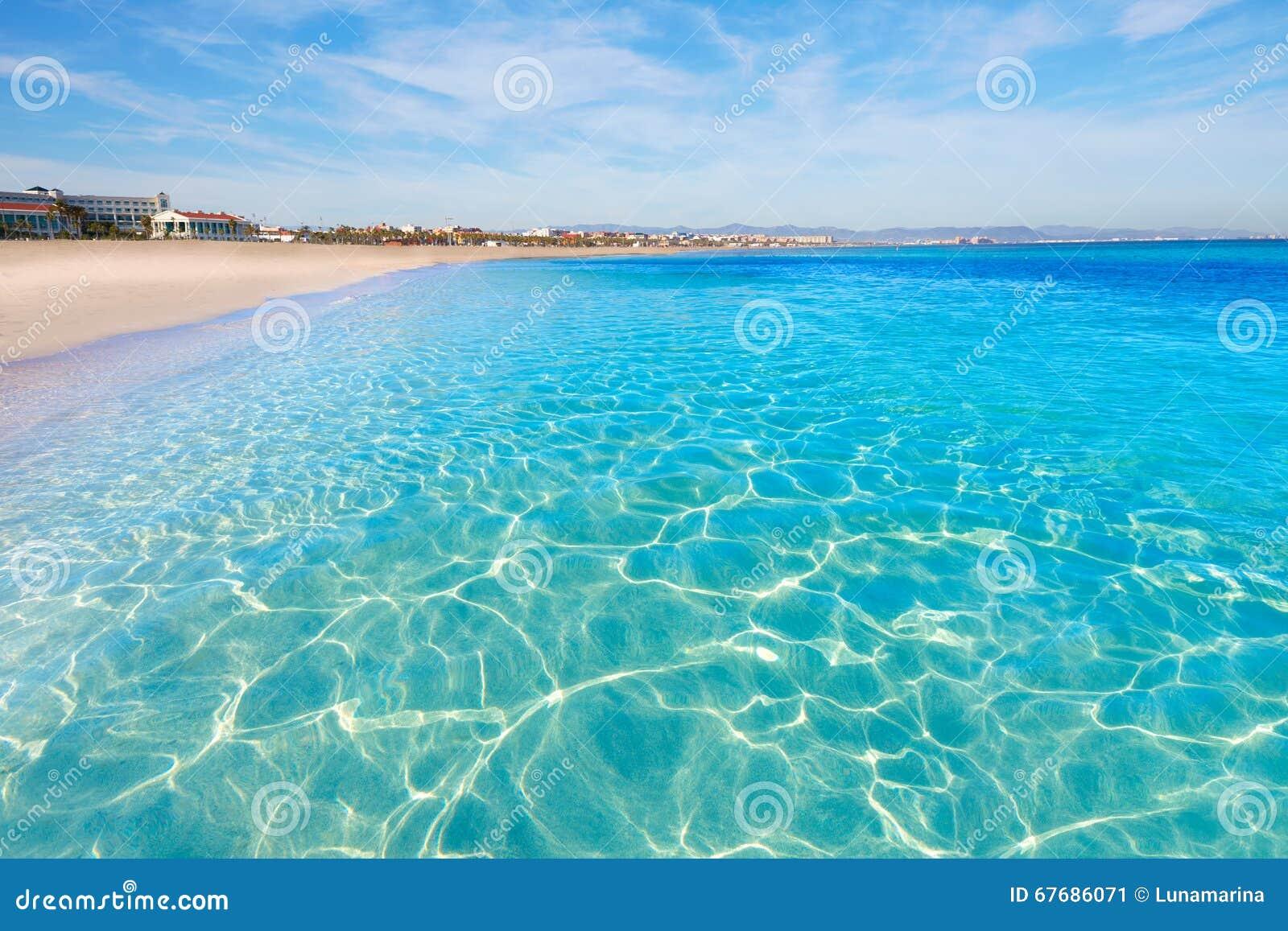 Arene spagna di las della spiaggia di valencia malvarrosa for Spiaggia malvarrosa valencia