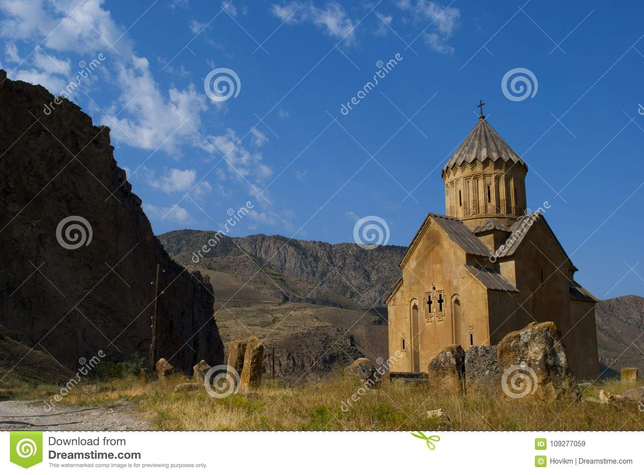 Areni Church Province Vayots Dzor In Armenia Stock Image - Image of
