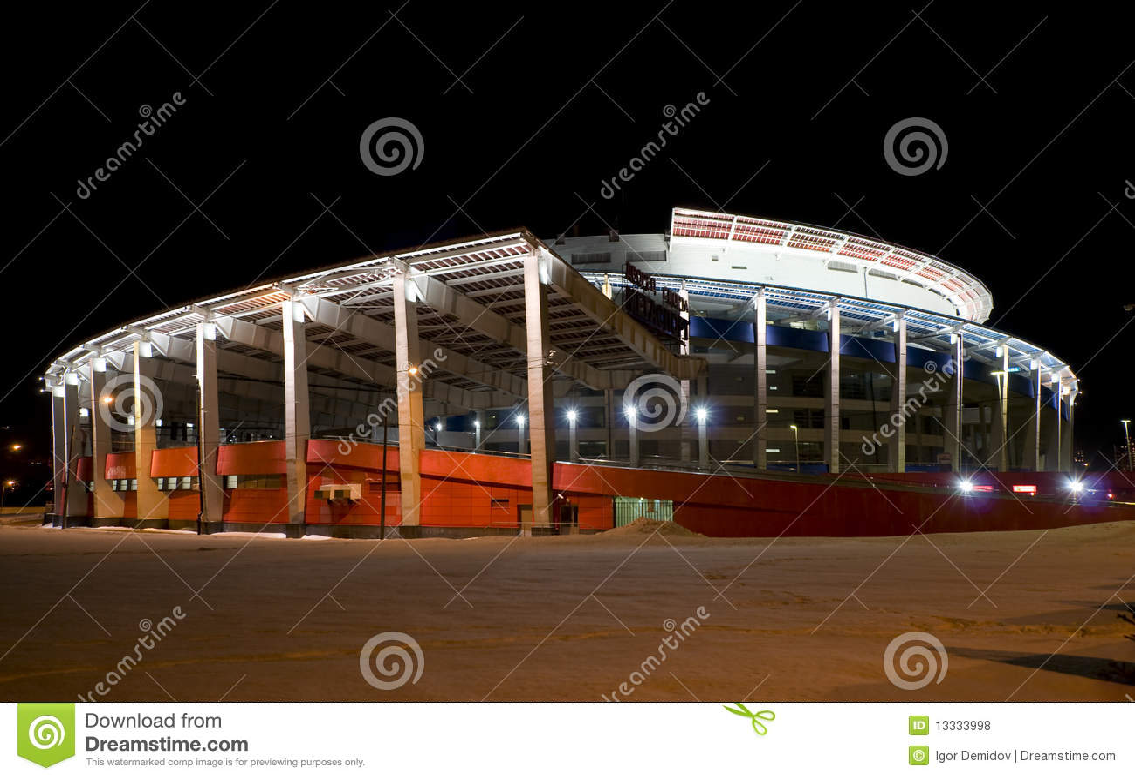 Areny lodowy pałac sport