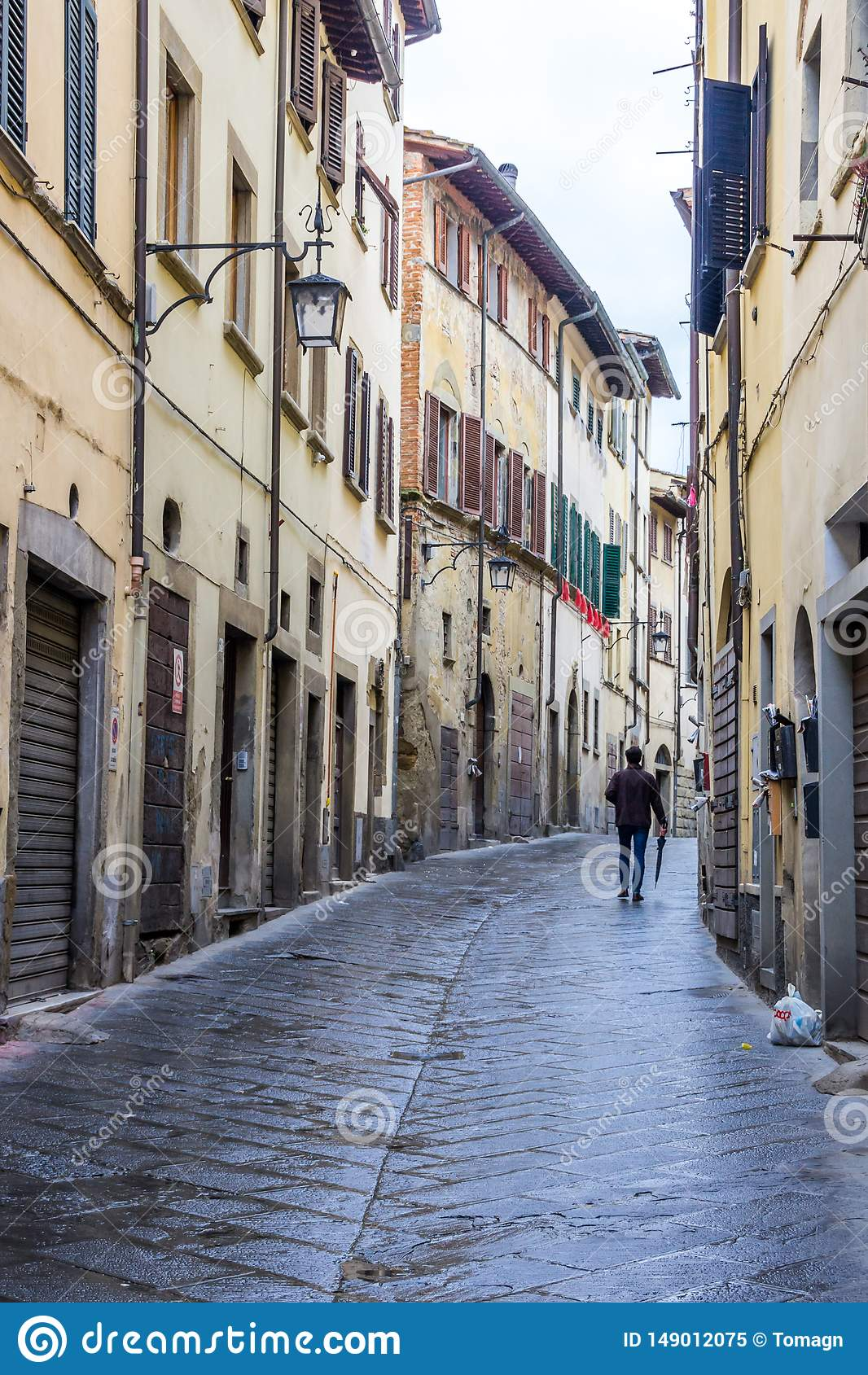 Arezzo dans le chianti en Toscane
