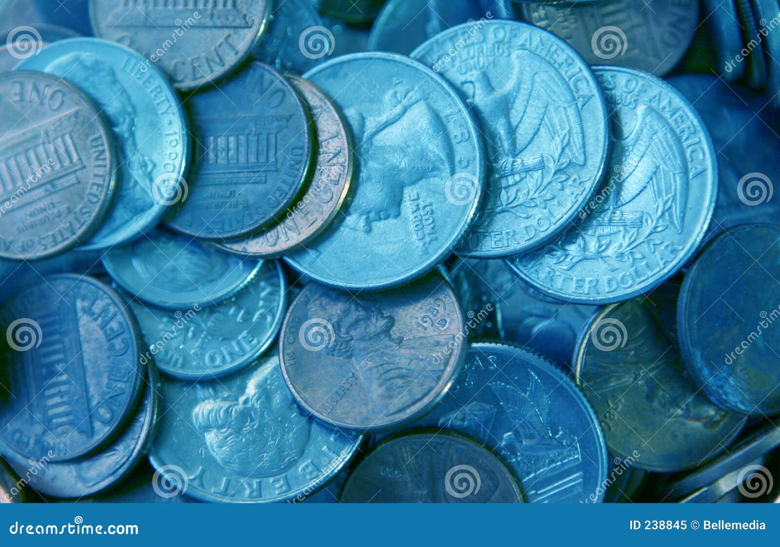 Argent de pièce de monnaie
