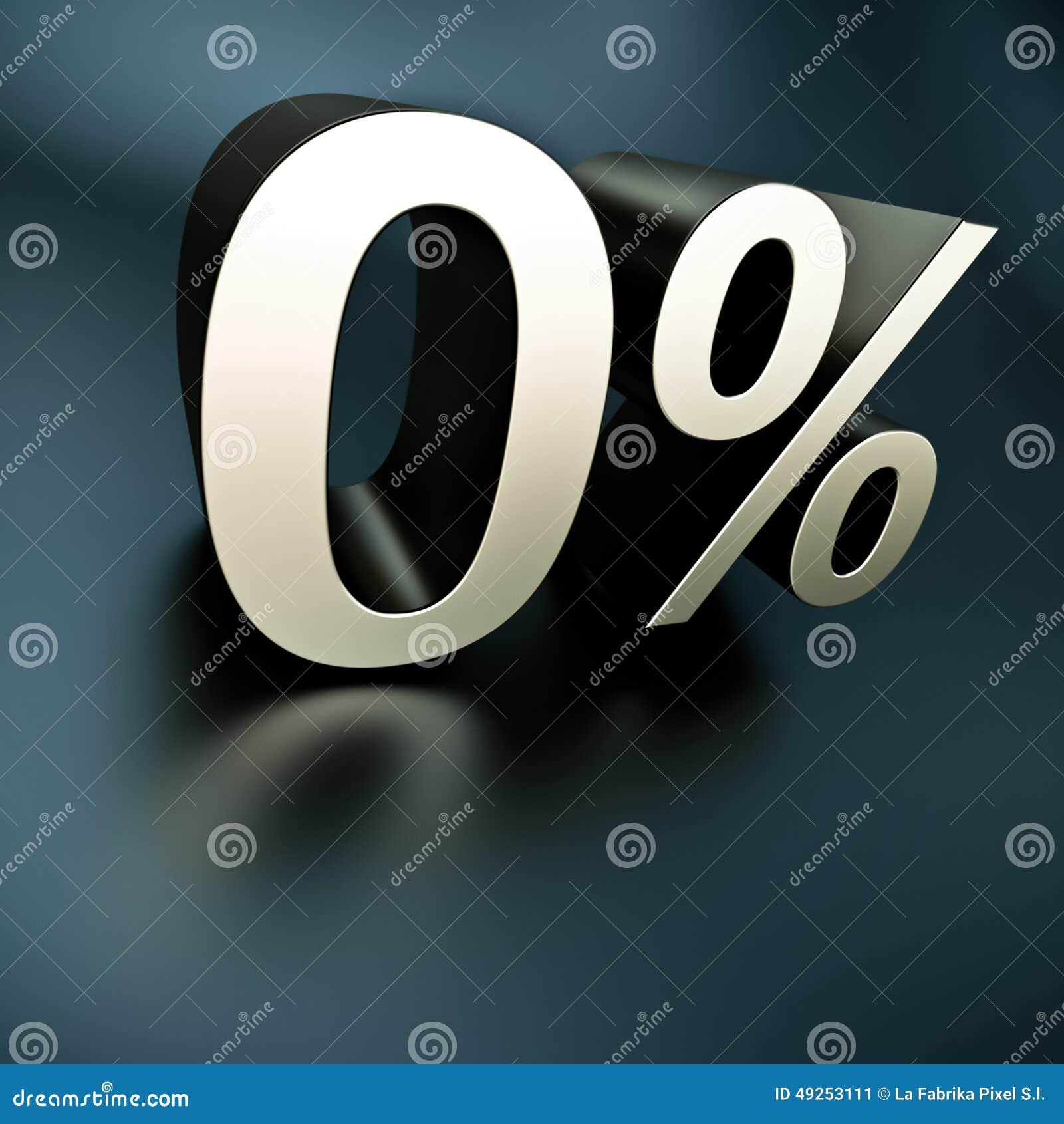 Argent 0 pour cent